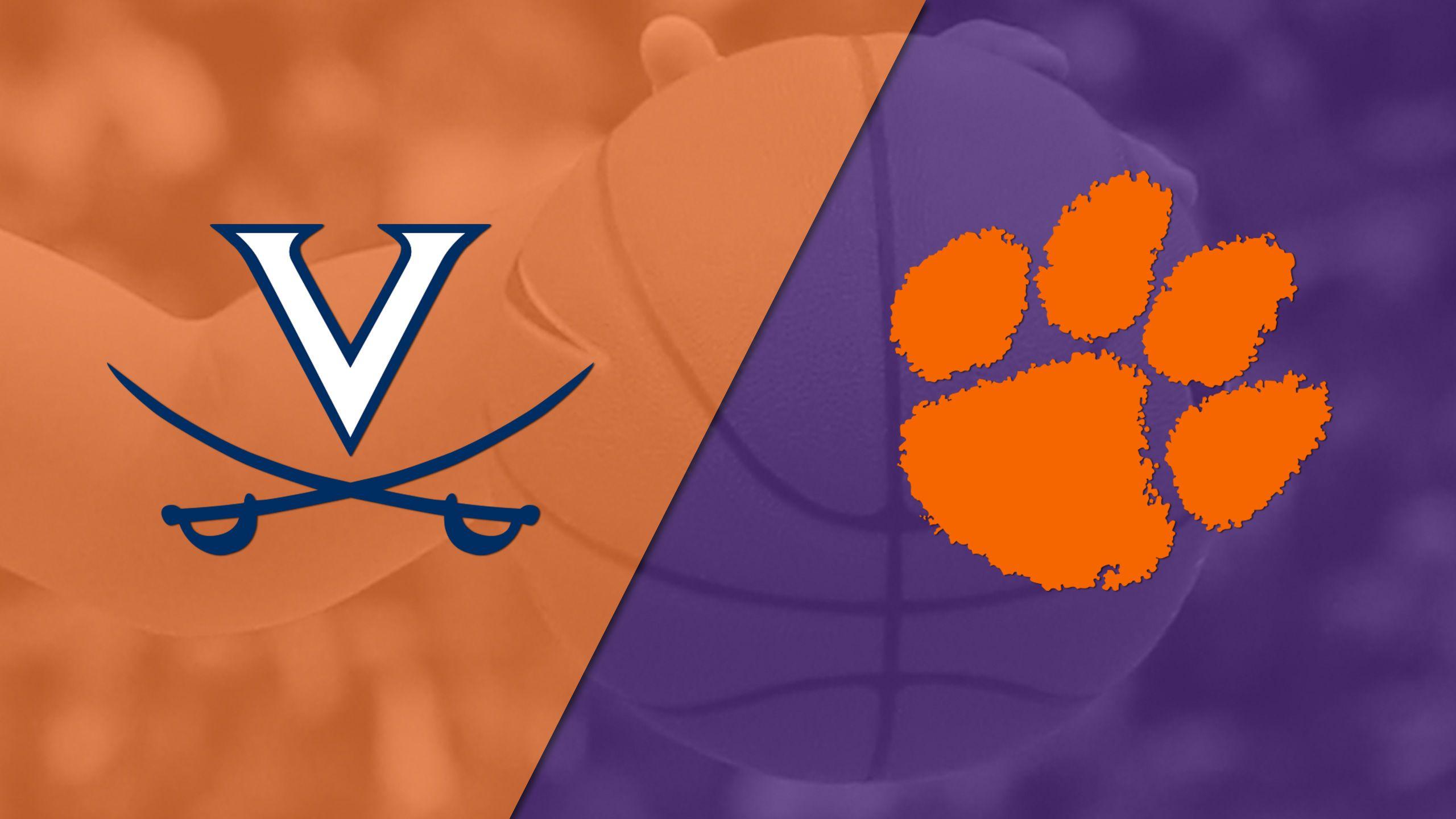 Virginia vs. Clemson (W Basketball)