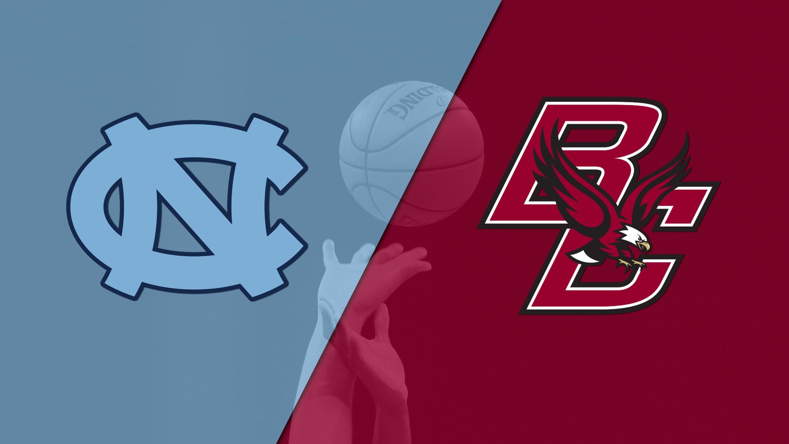 #9 North Carolina vs. Boston College (M Basketball)