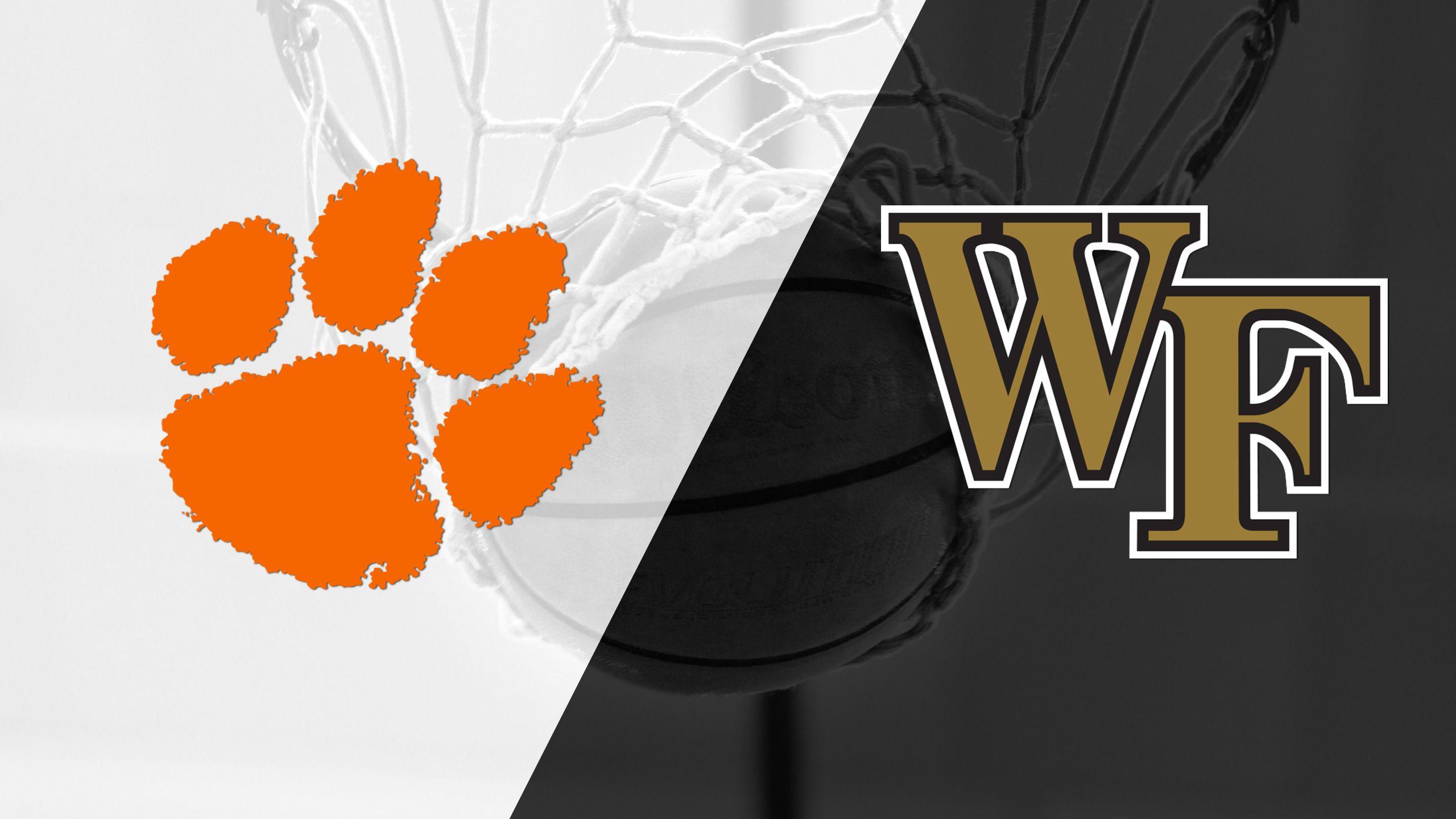 Clemson vs. Wake Forest (M Basketball)