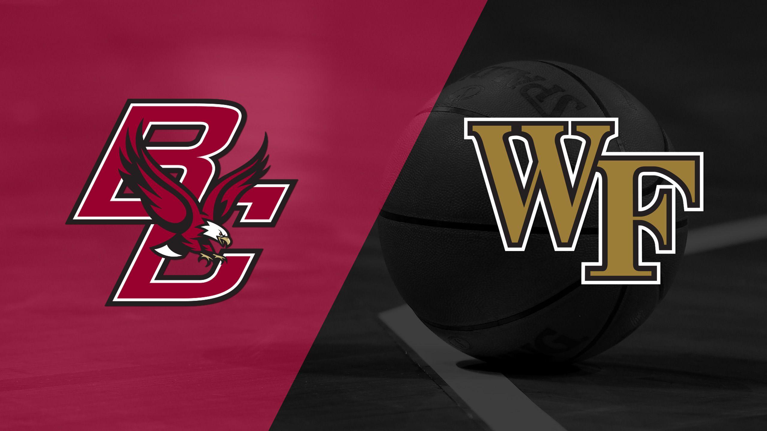 Boston College vs. Wake Forest (M Basketball)