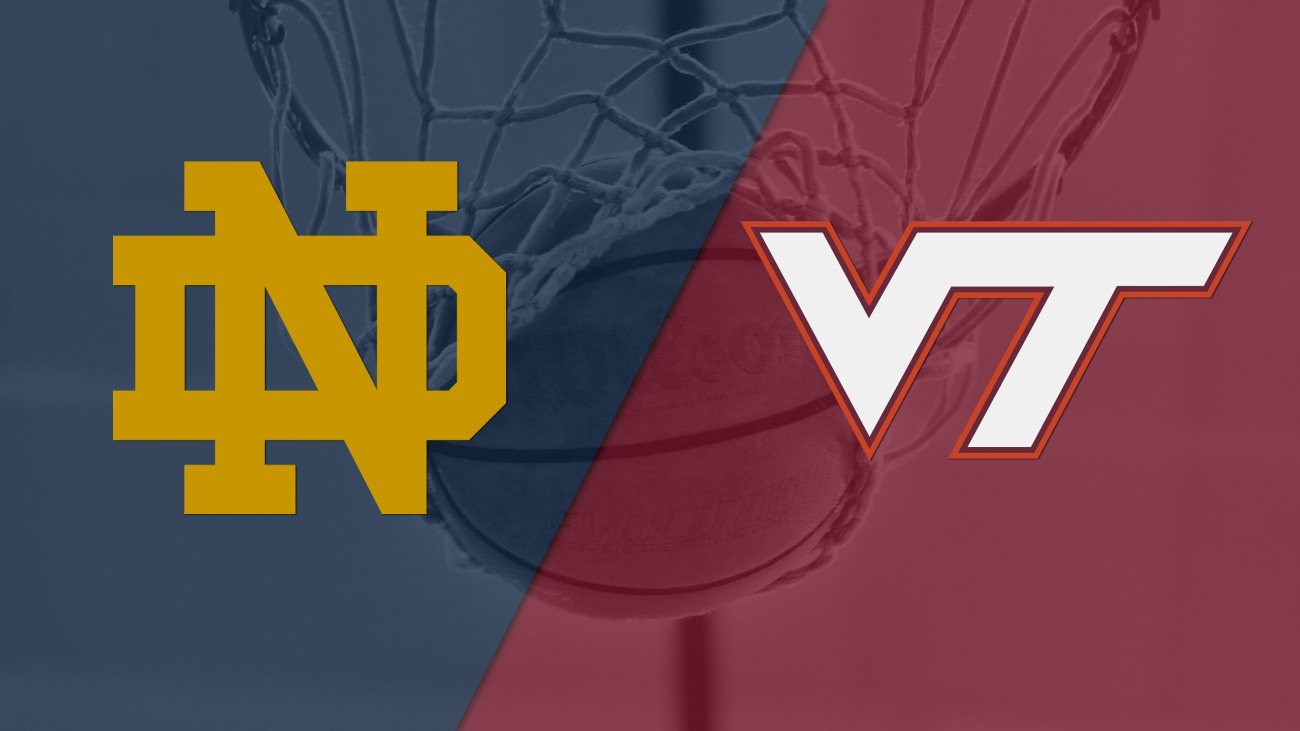 #20 Notre Dame vs. Virginia Tech (M Basketball)