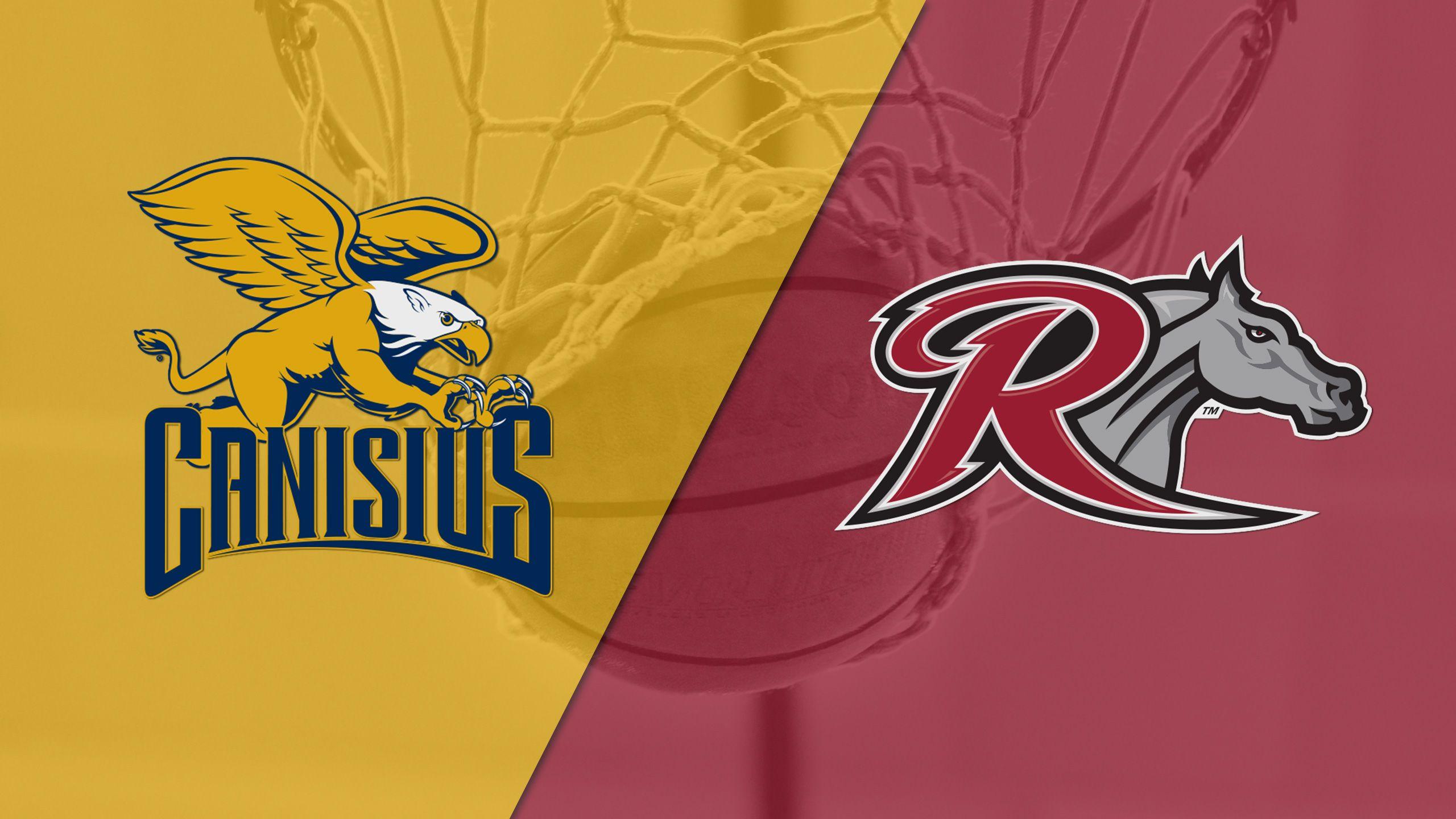 Canisius vs. Rider (M Basketball)