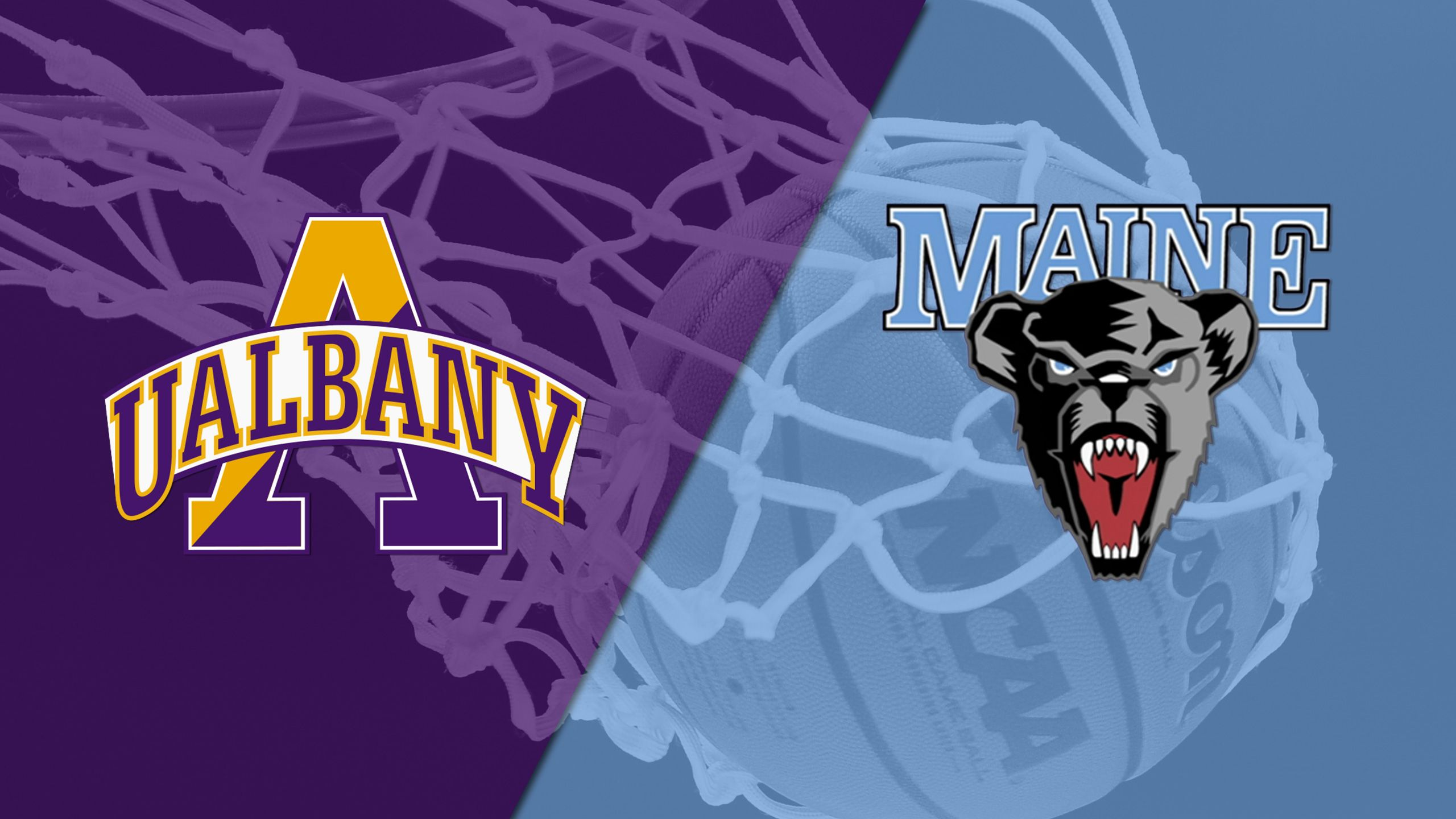 Albany vs. Maine (M Basketball)