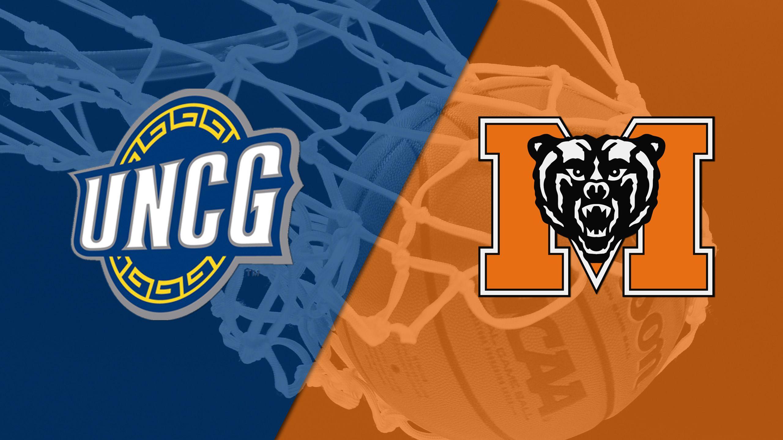 UNC Greensboro vs. Mercer (M Basketball)