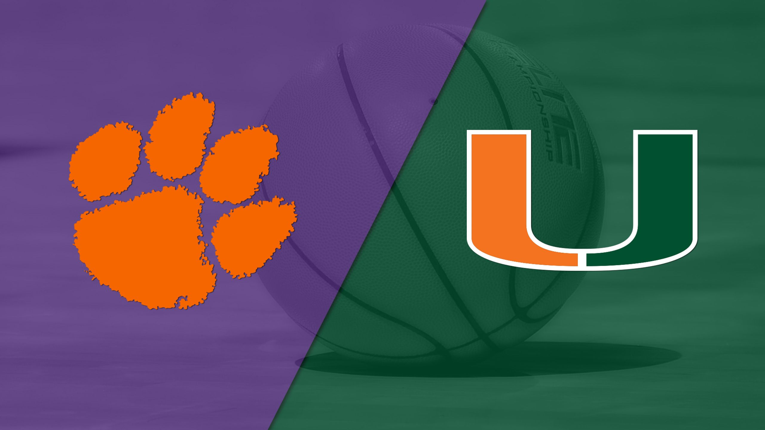Clemson vs. Miami (M Basketball)