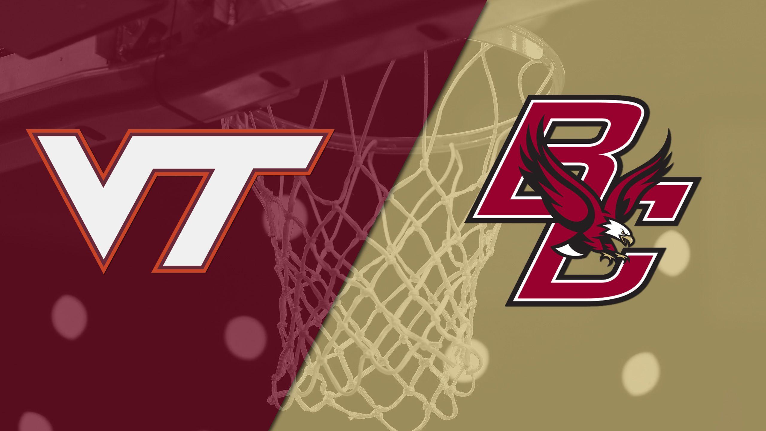 Virginia Tech vs. Boston College (M Basketball)