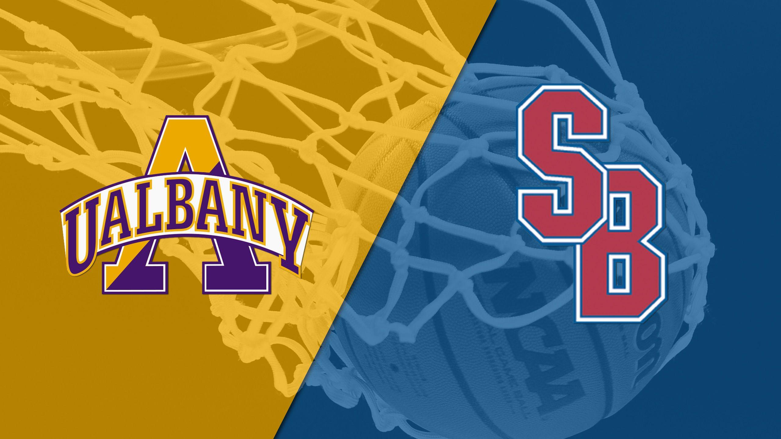 Albany vs. Stony Brook (Semifinal) (America East Men's Championship)