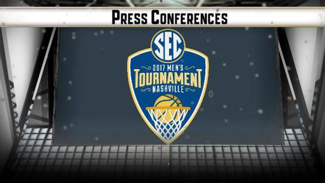 SEC Men's Basketball Tournament Post-Game Press Conferences (Semifinal #1)