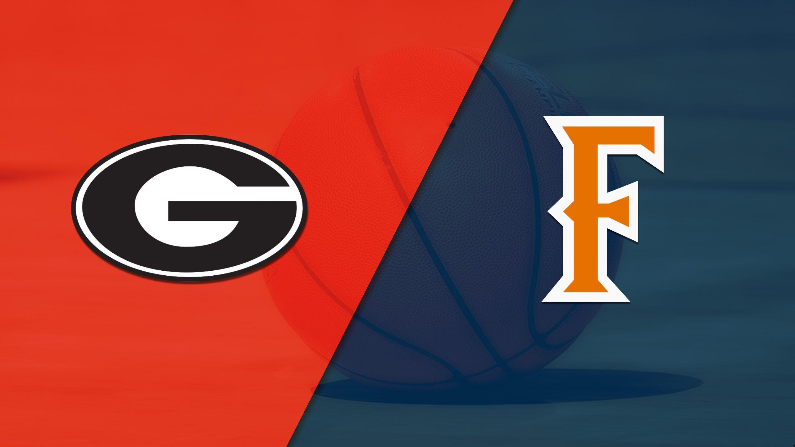 Georgia vs. Cal State Fullerton (Quarterfinal #3) (Wooden Legacy)