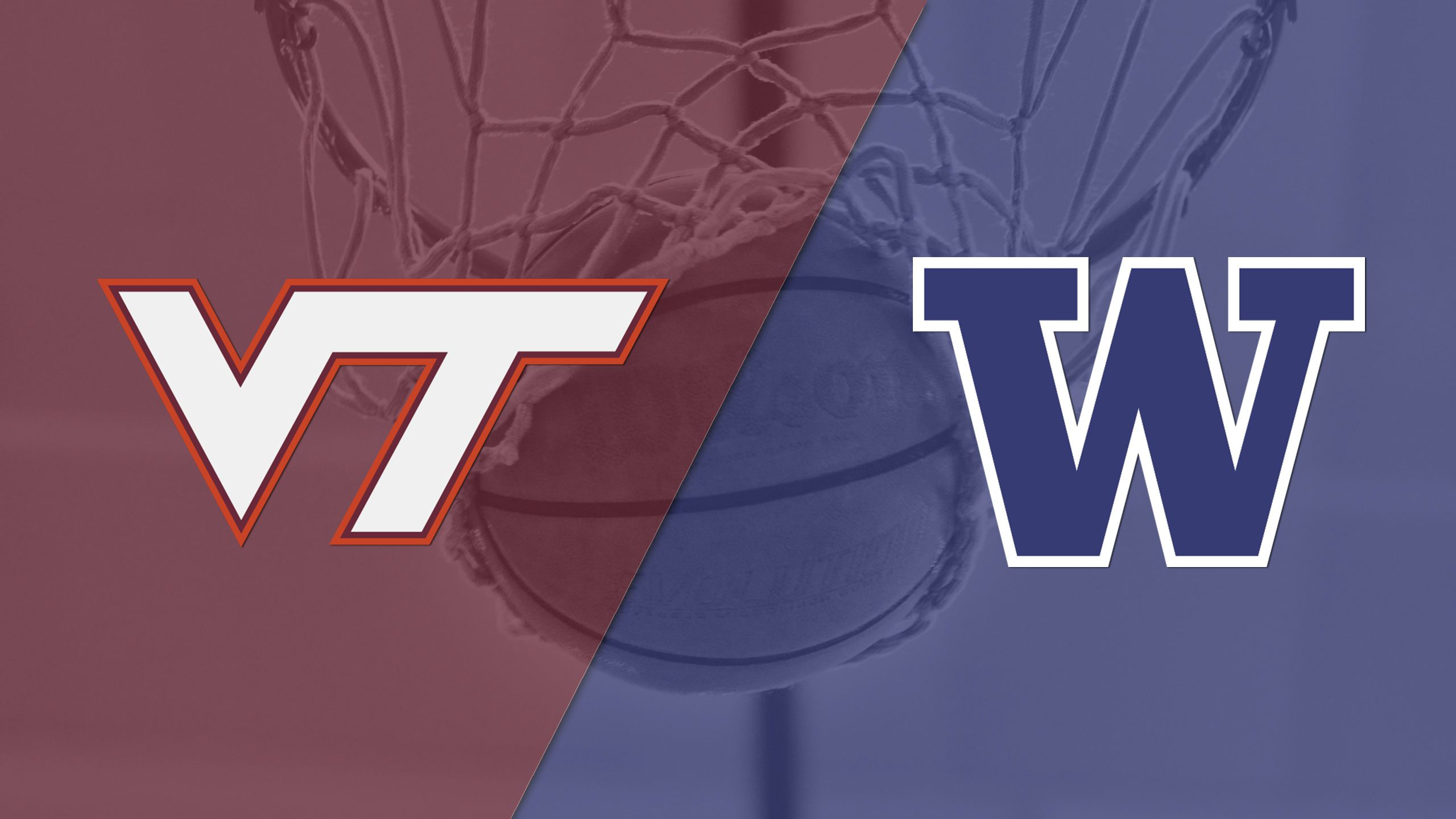 Virginia Tech vs. Washington (3rd Place) (2K Sports Classic) (re-air)