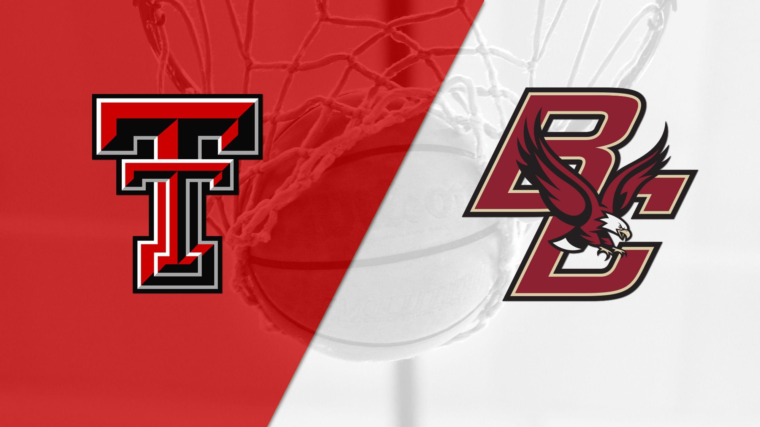 Texas Tech vs. Boston College (Semifinal #1) (Basketball Hall of Fame Tip-Off)