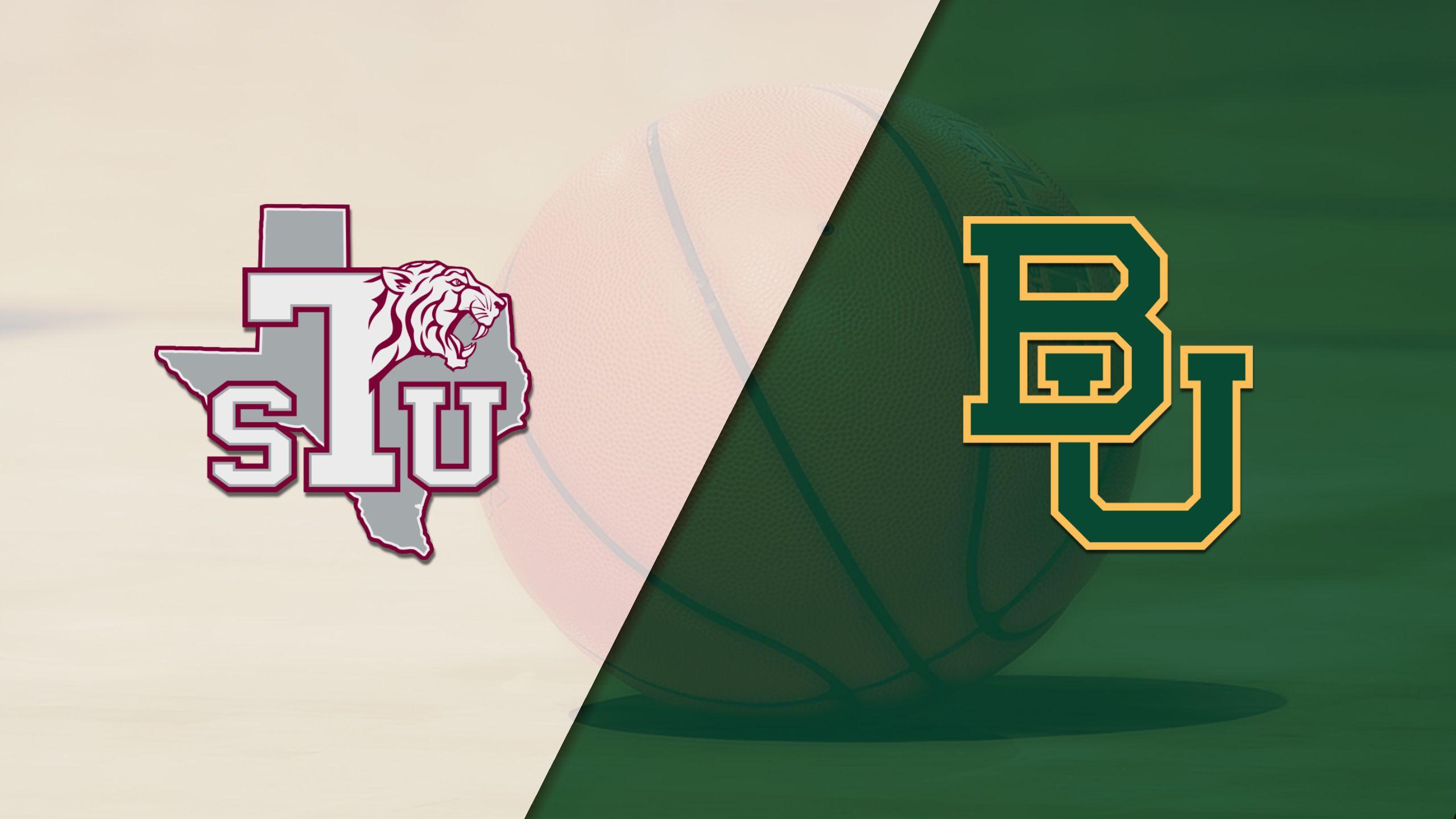 Texas Southern vs. #21 Baylor (M Basketball) (re-air)