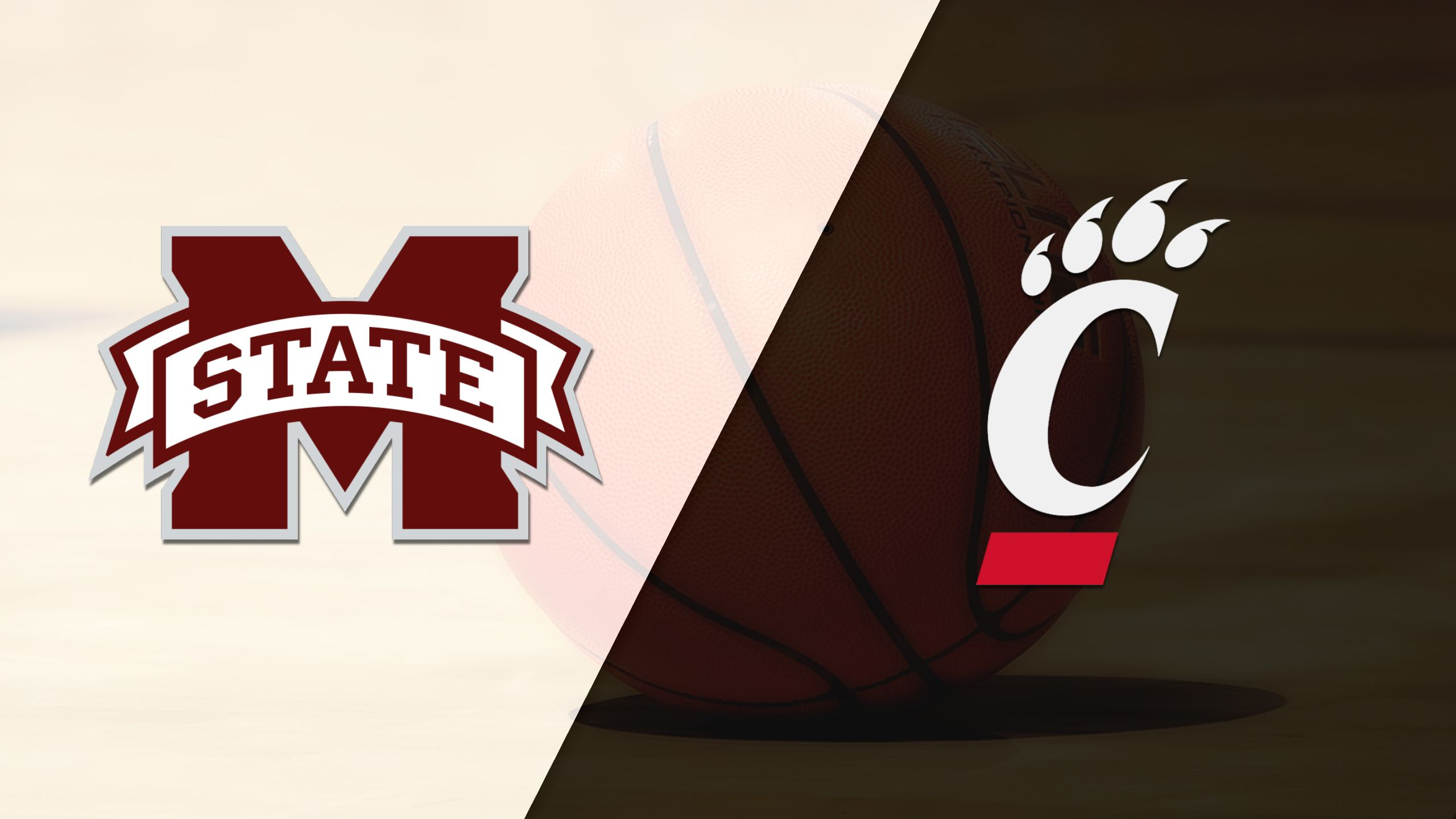Mississippi State vs. #25 Cincinnati (M Basketball) (re-air)