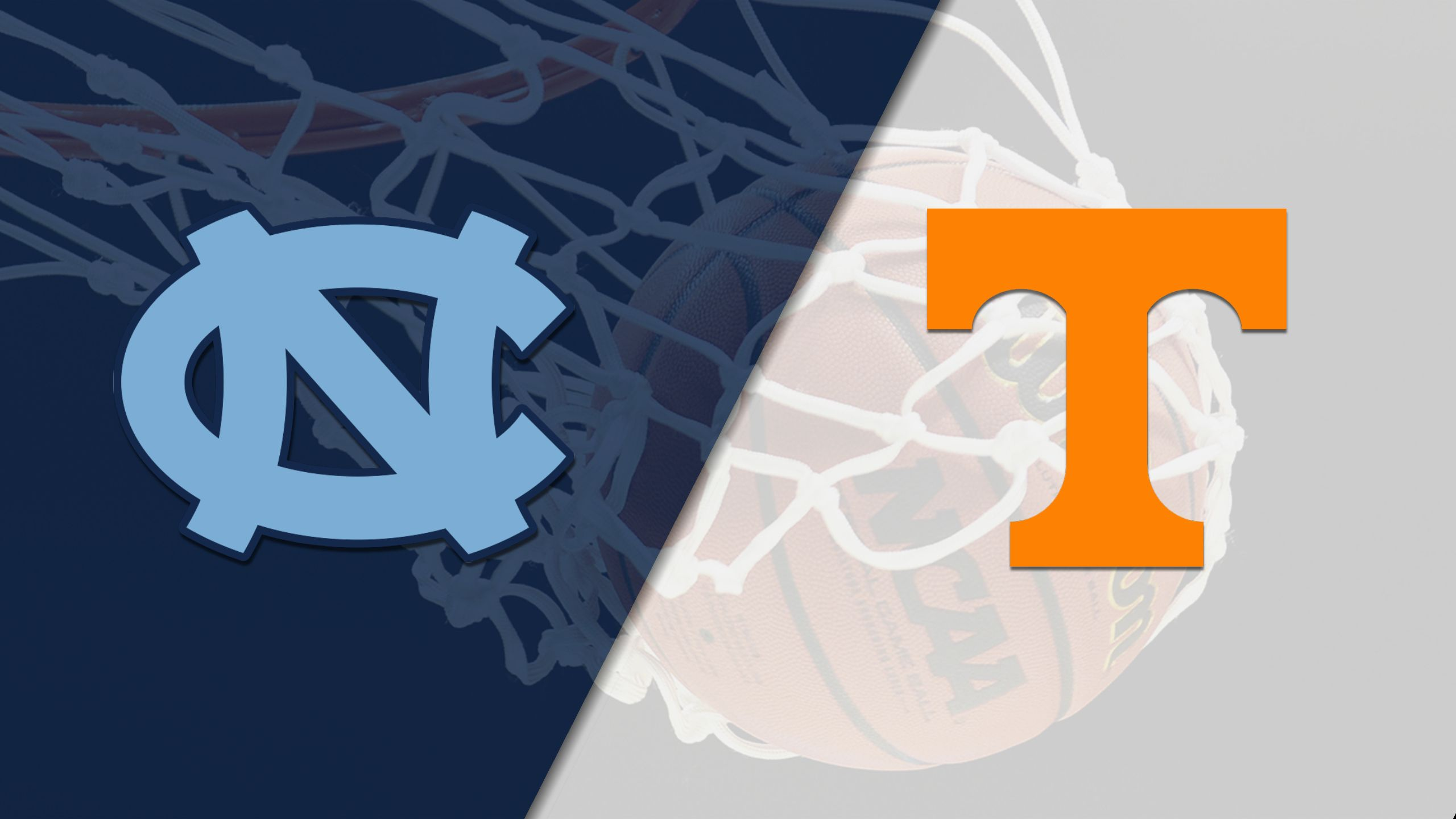 #7 North Carolina vs. #20 Tennessee (M Basketball) (re-air)