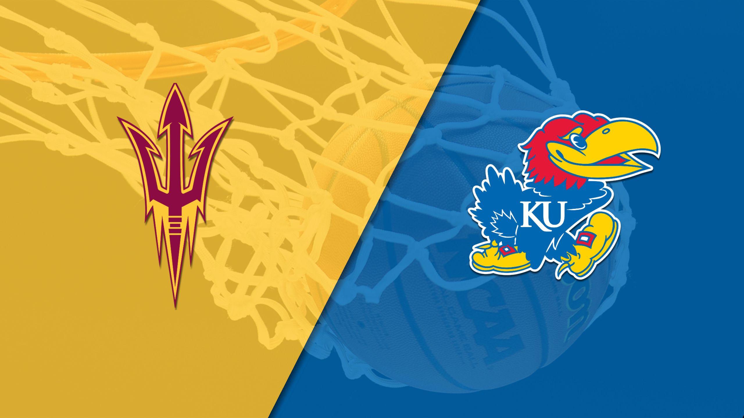 #16 Arizona State vs. #2 Kansas (M Basketball) (re-air)