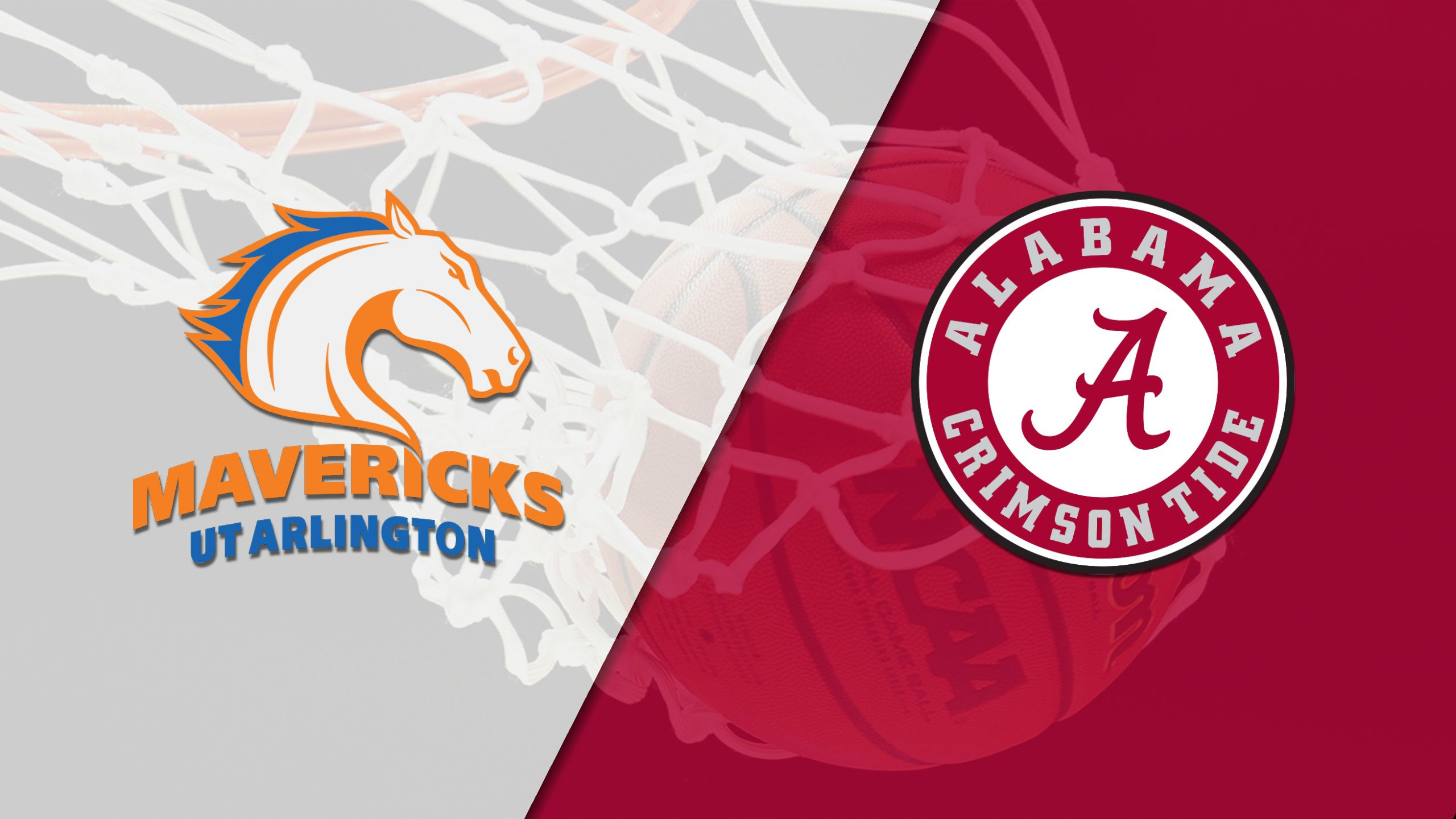 UT Arlington vs. #25 Alabama (M Basketball)