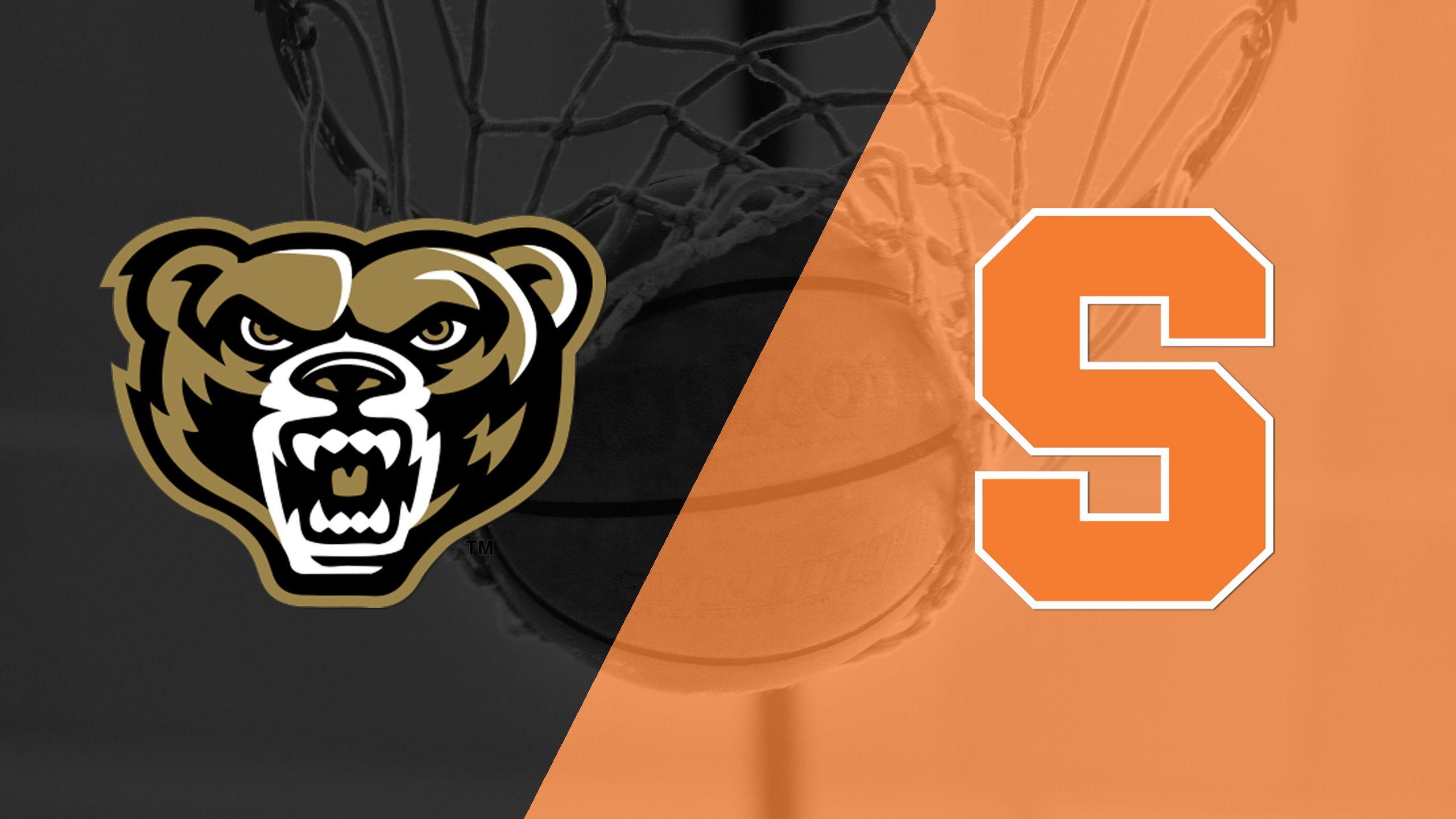Oakland vs. Syracuse (M Basketball)