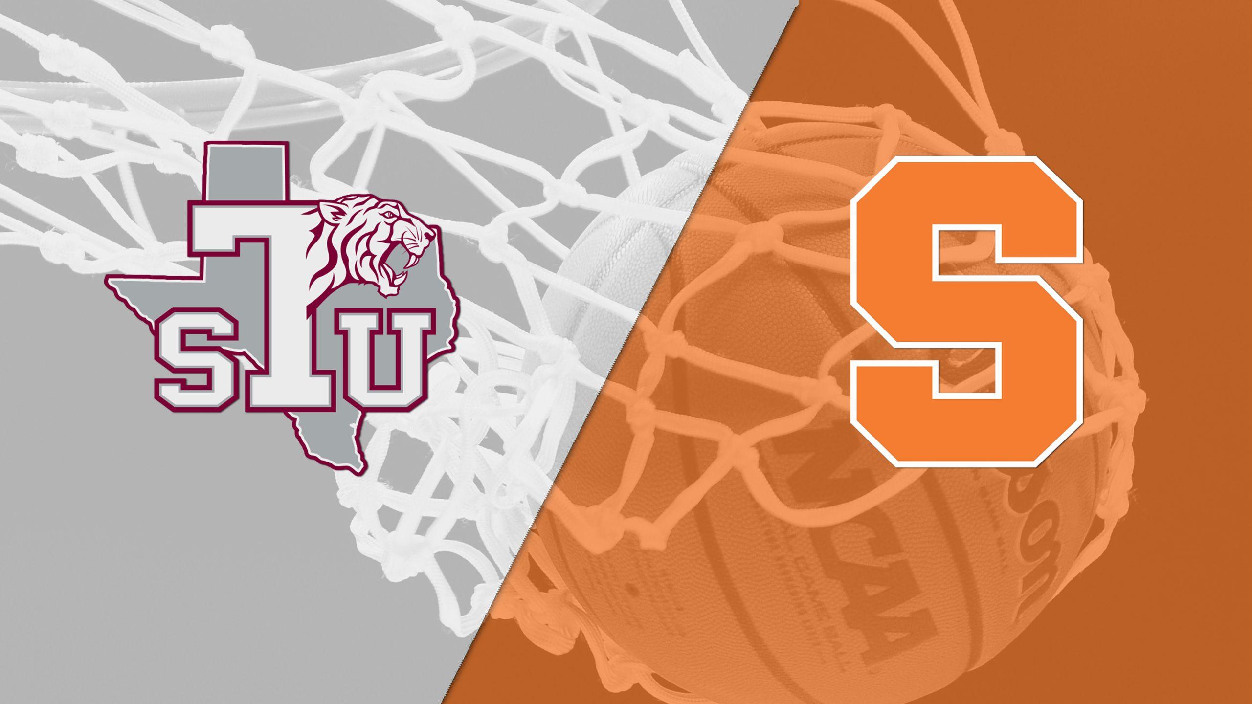 Texas Southern vs. Syracuse (M Basketball)