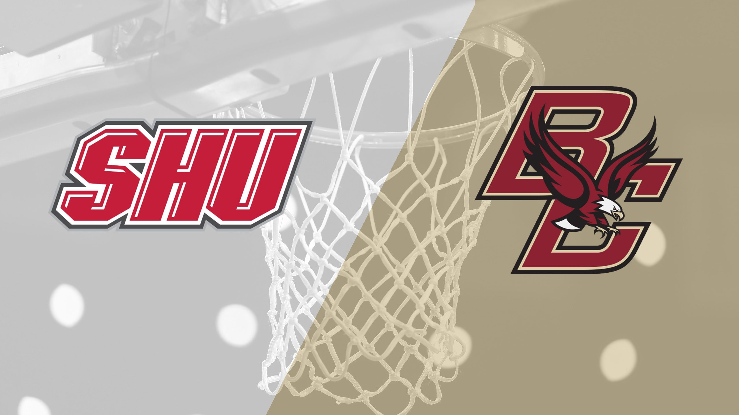 Sacred Heart vs. Boston College (M Basketball)