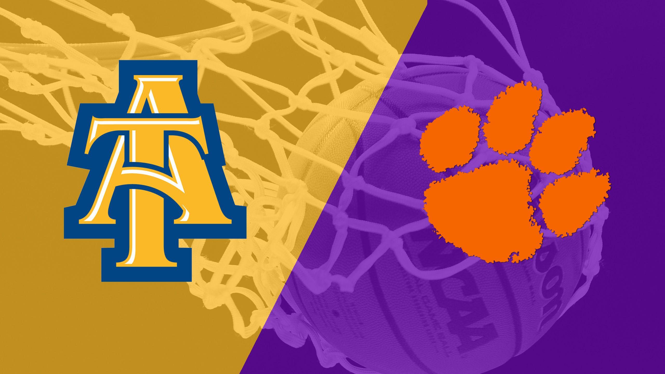 North Carolina A&T vs. Clemson (M Basketball)