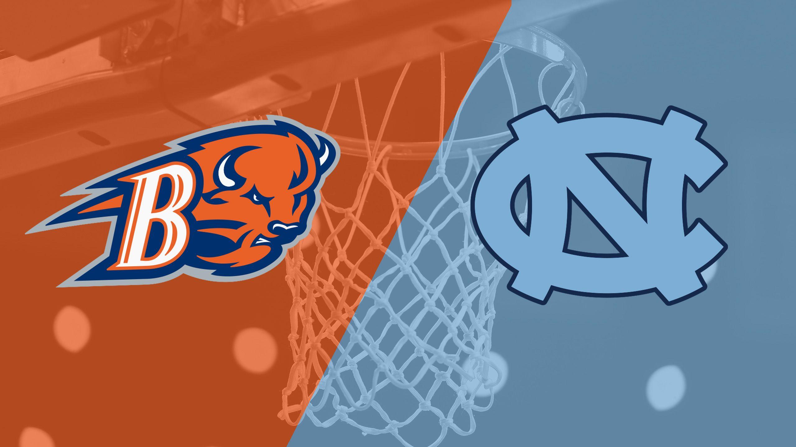 Bucknell vs. #9 North Carolina (M Basketball)