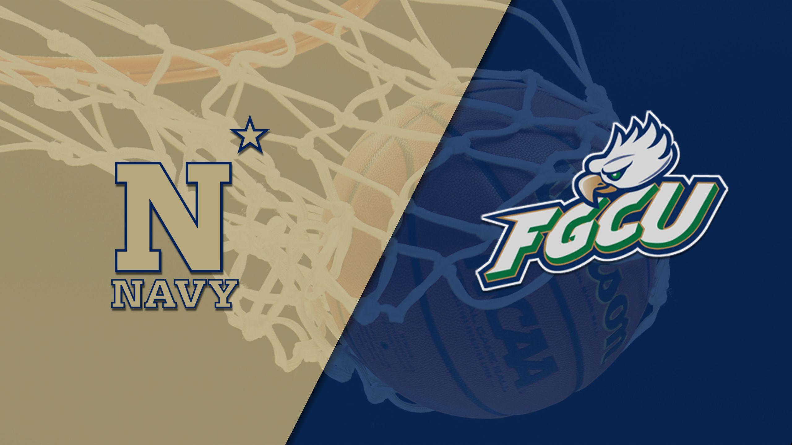 Navy vs. Florida Gulf Coast (M Basketball)