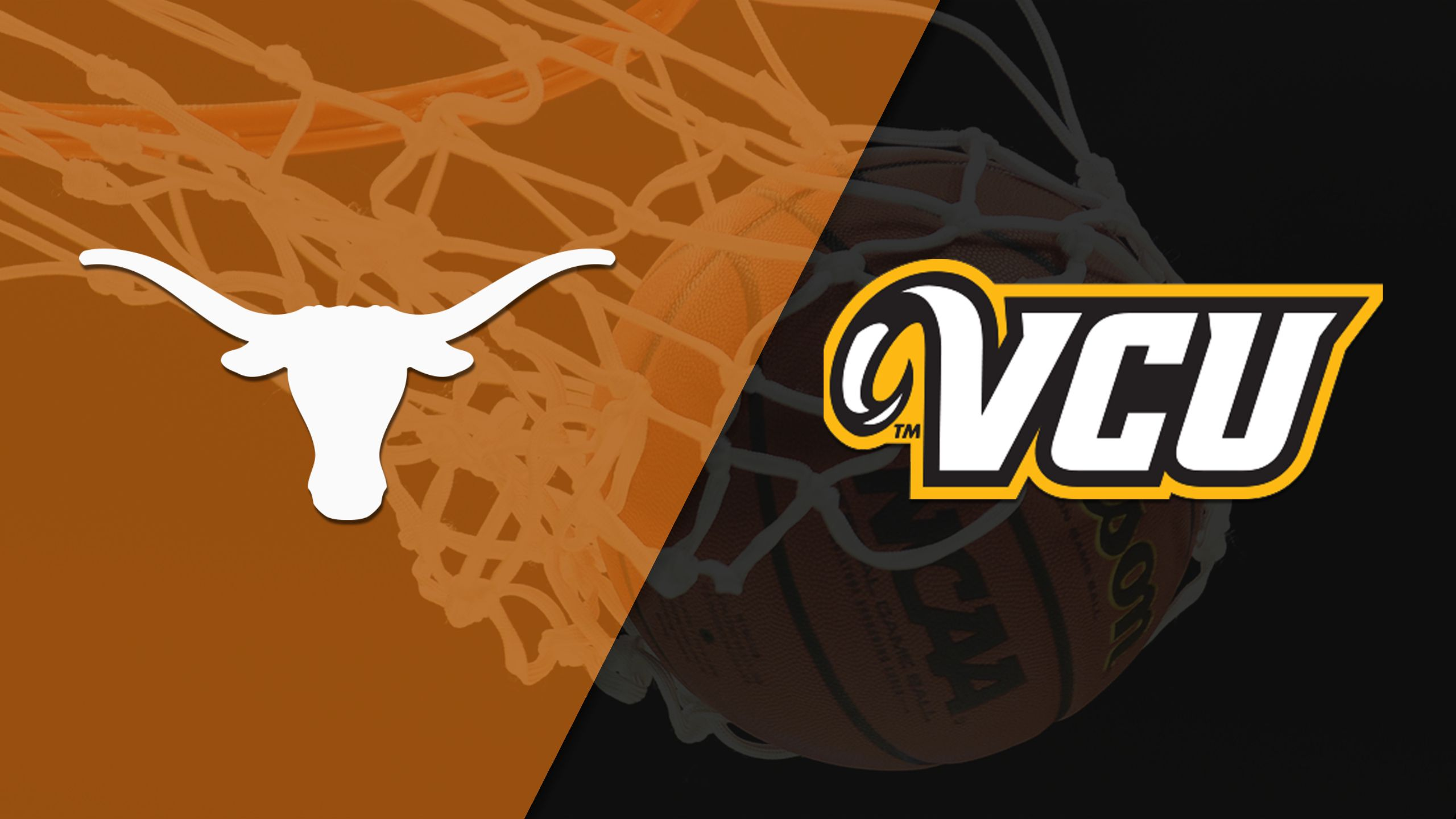 Texas vs. VCU (M Basketball) (re-air)