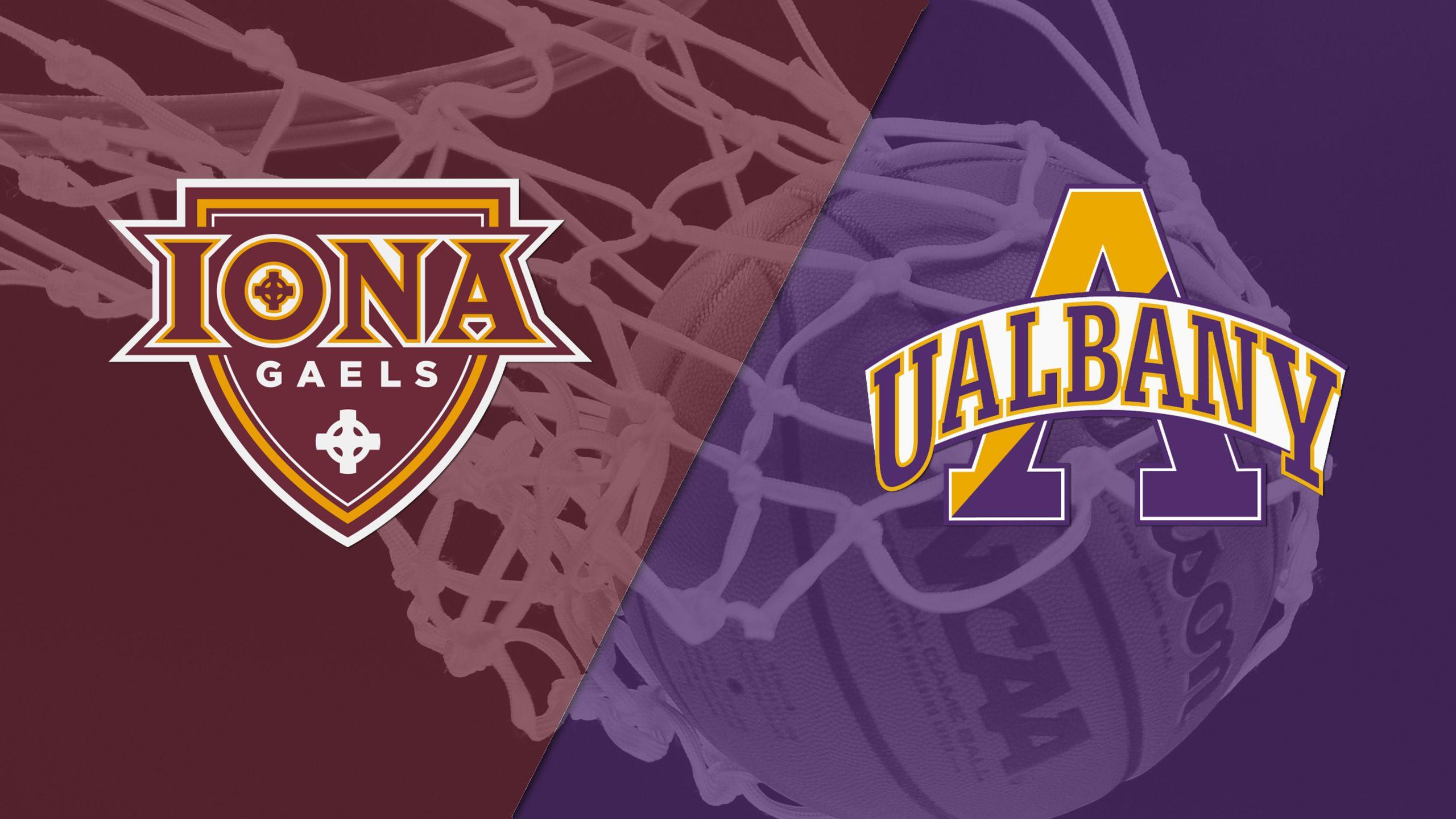 Iona vs. Albany (M Basketball)