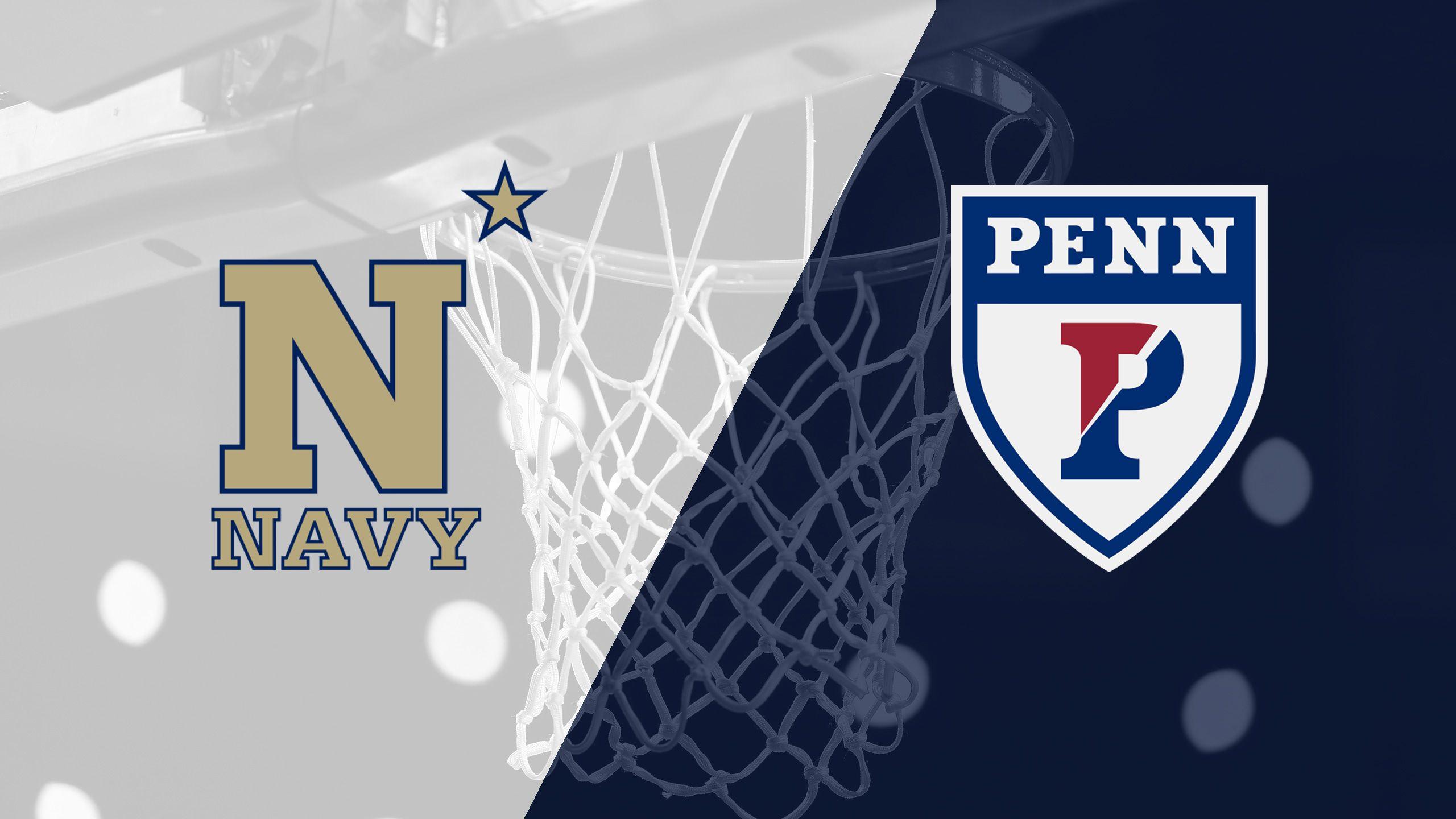 Navy vs. Pennsylvania (M Basketball)