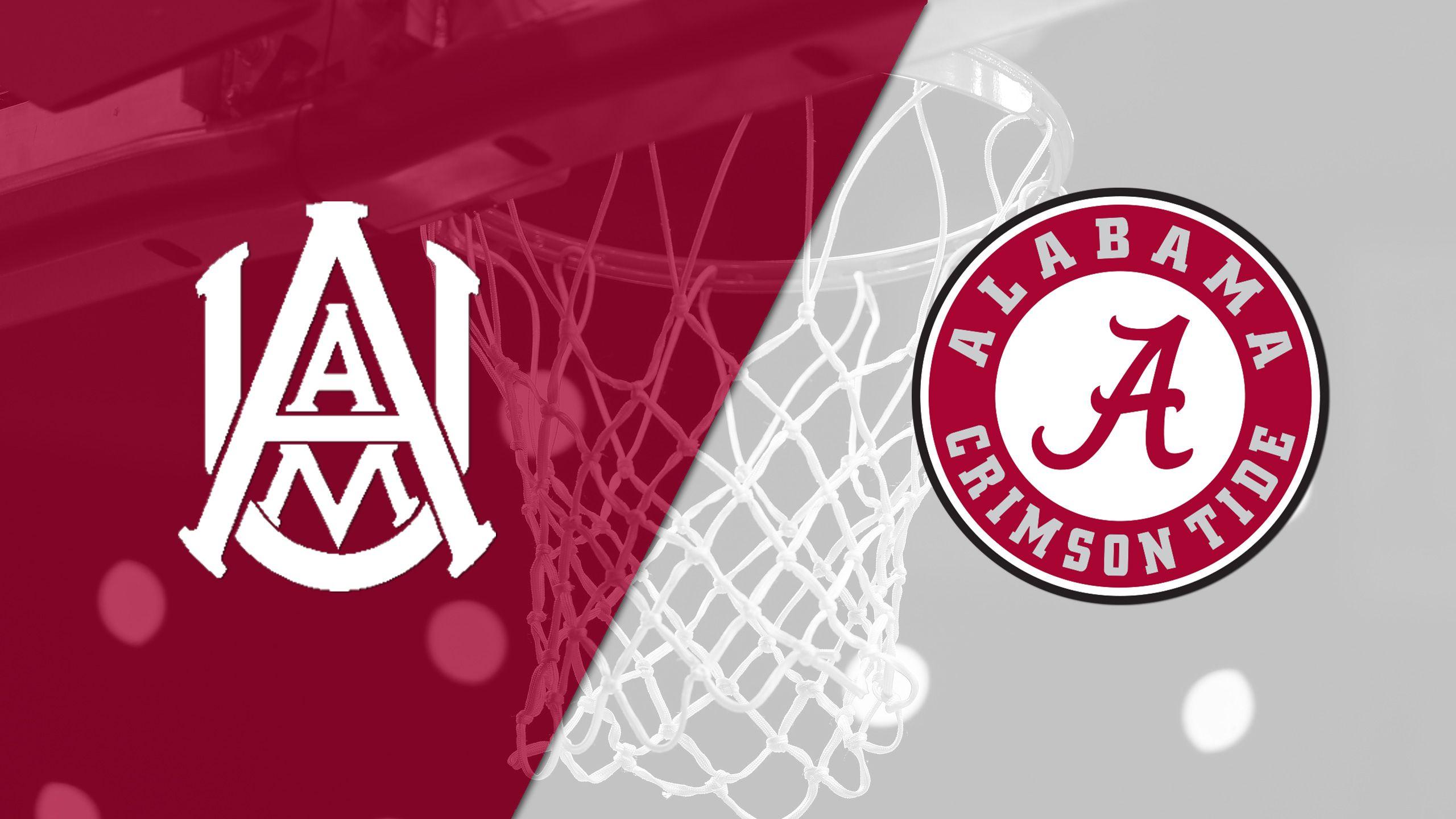 Alabama A&M vs. Alabama (M Basketball)