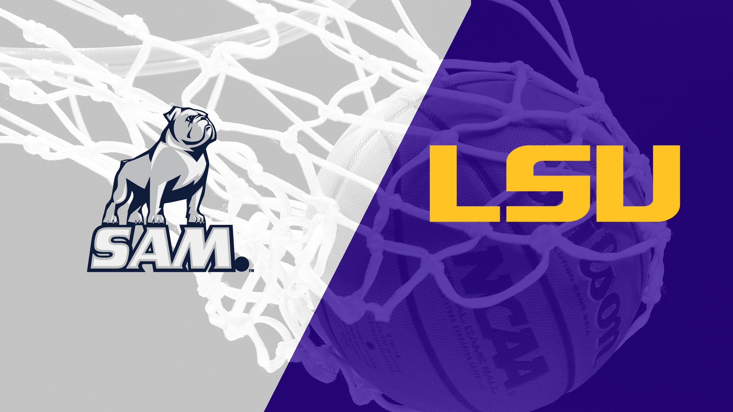 Samford vs. LSU (M Basketball)