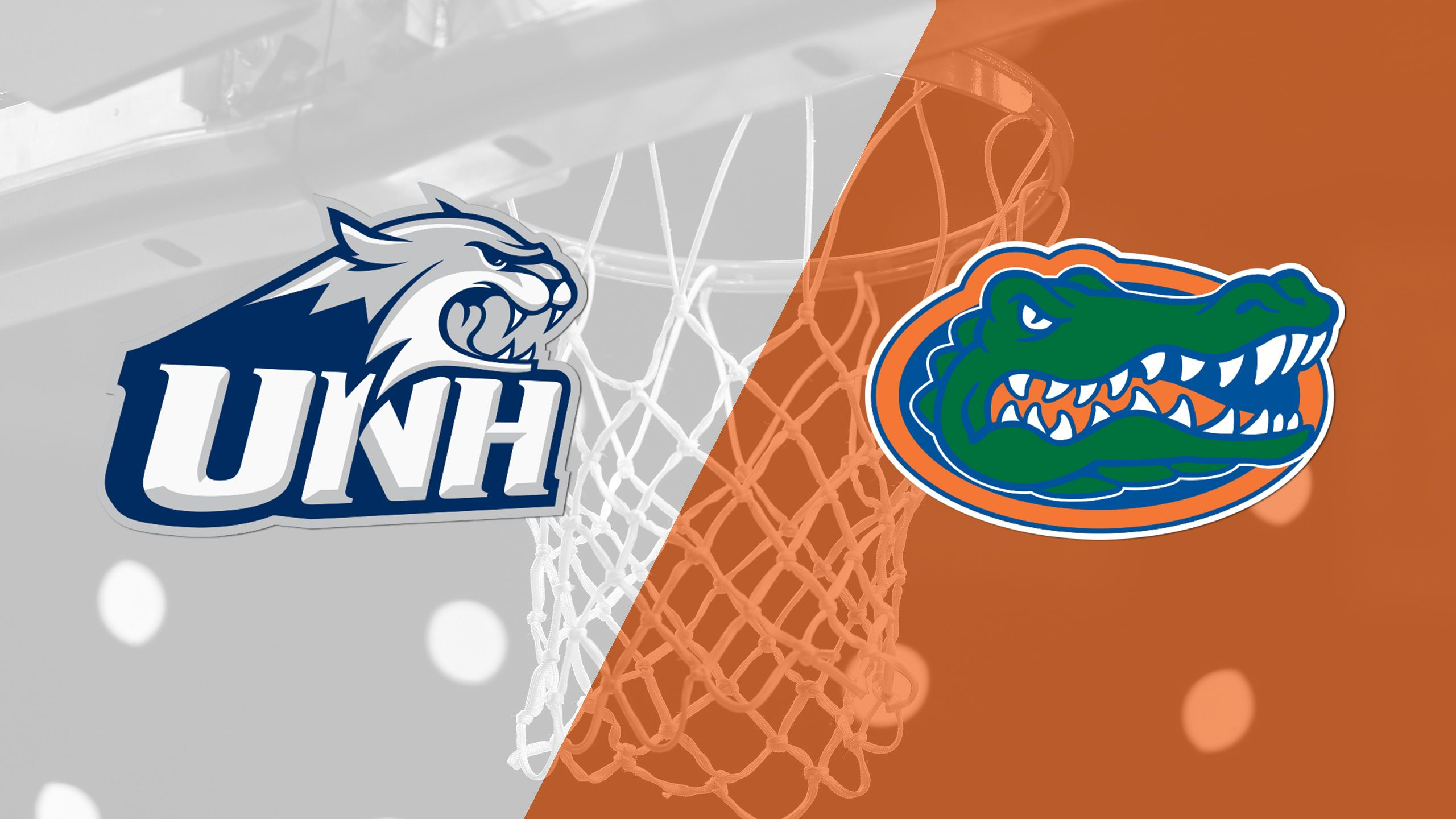 New Hampshire vs. #8 Florida (M Basketball)