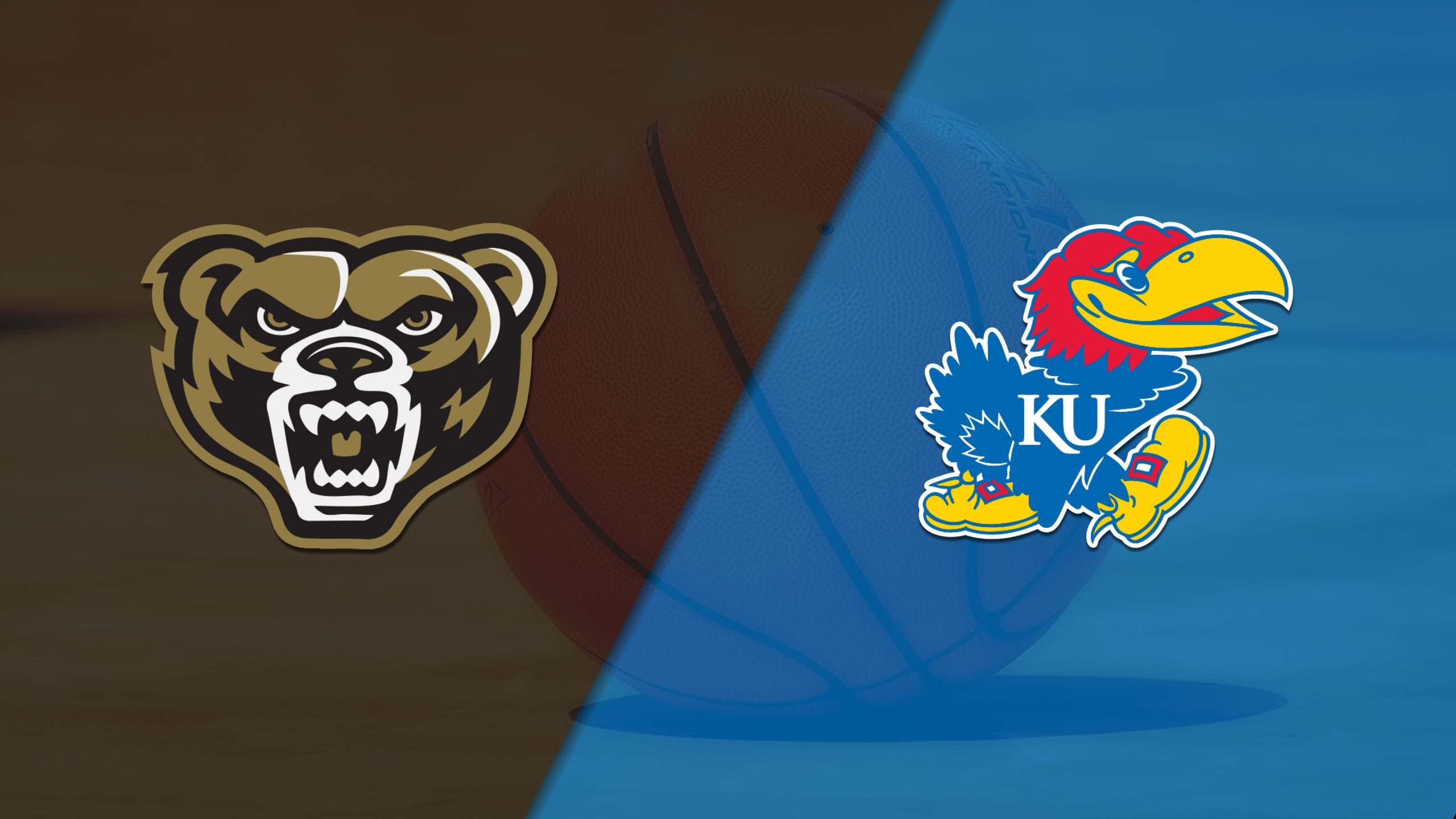 Oakland vs. #3 Kansas (M Basketball)