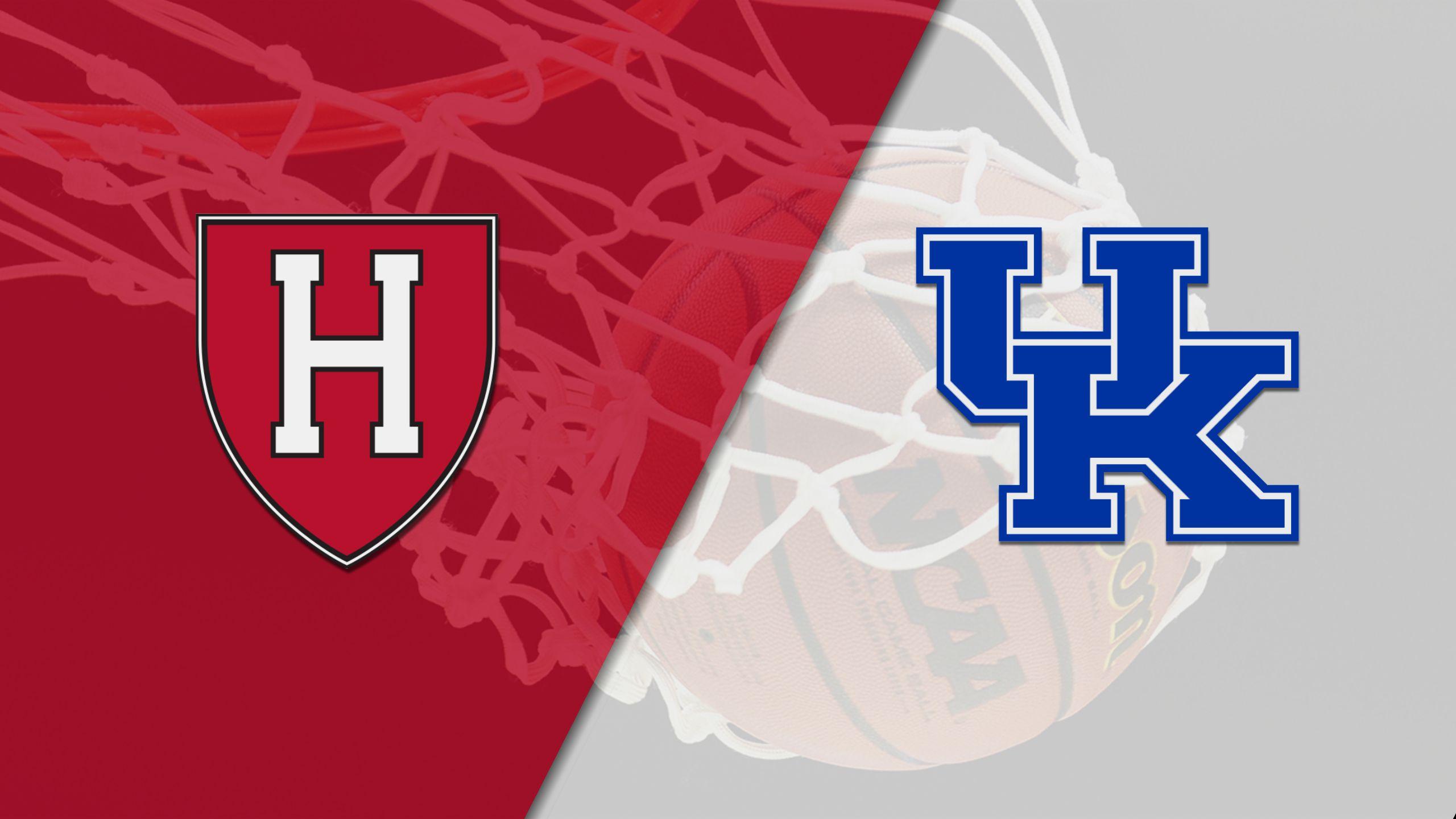 Harvard vs. #7 Kentucky (M Basketball)