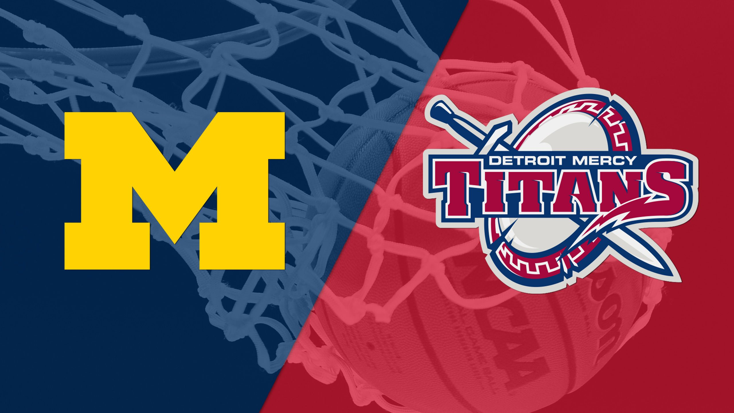 Michigan vs. Detroit (M Basketball)
