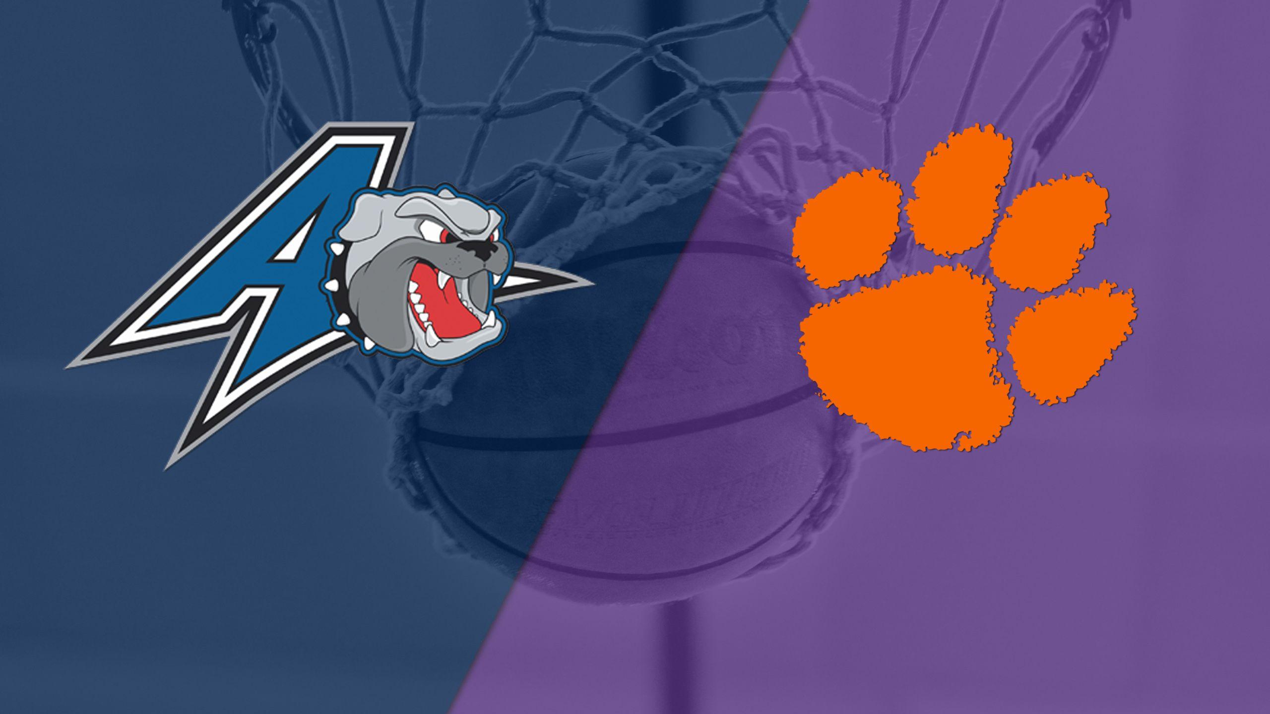 UNC Asheville vs. Clemson (M Basketball)