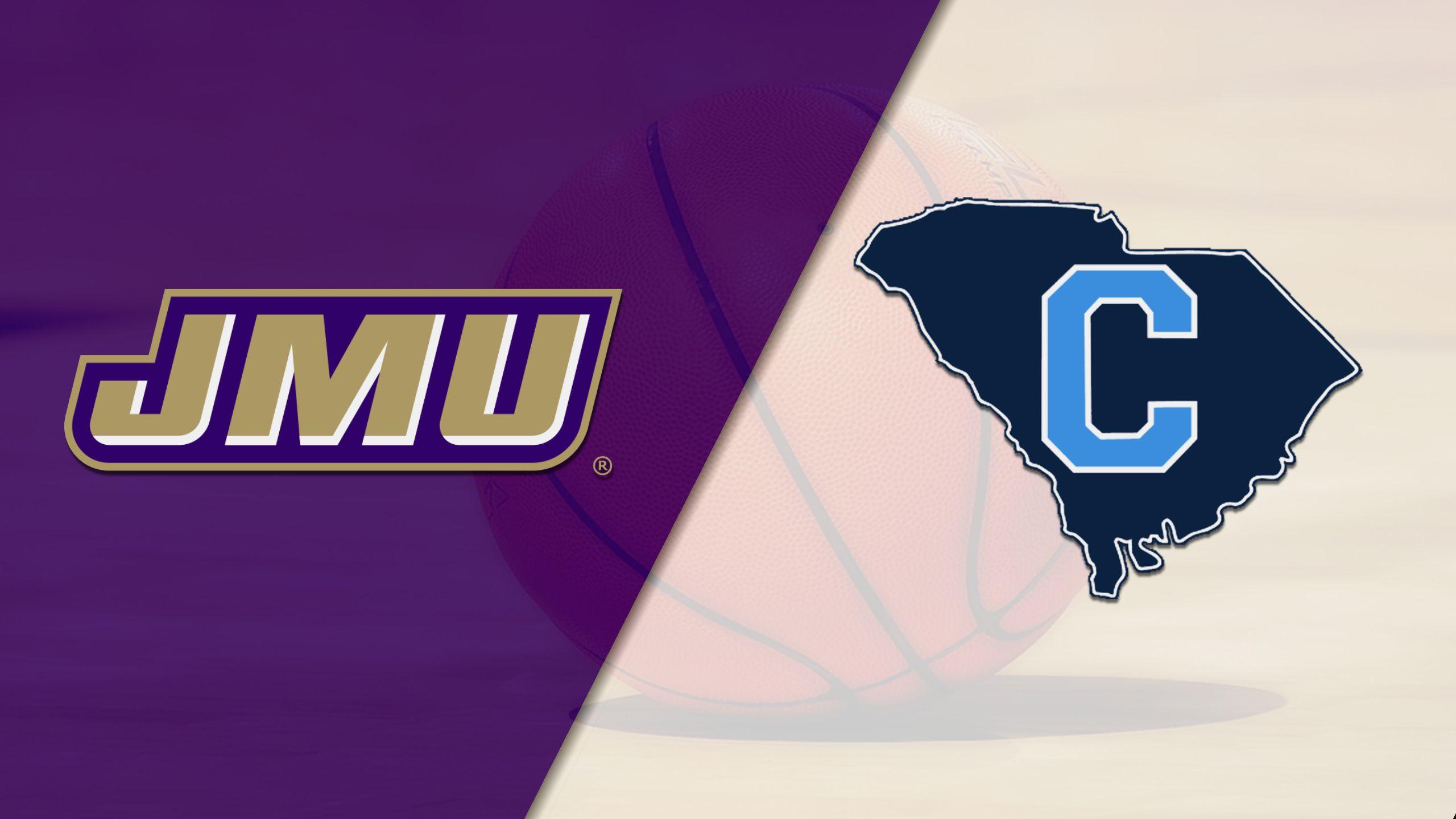 James Madison vs. The Citadel (M Basketball)