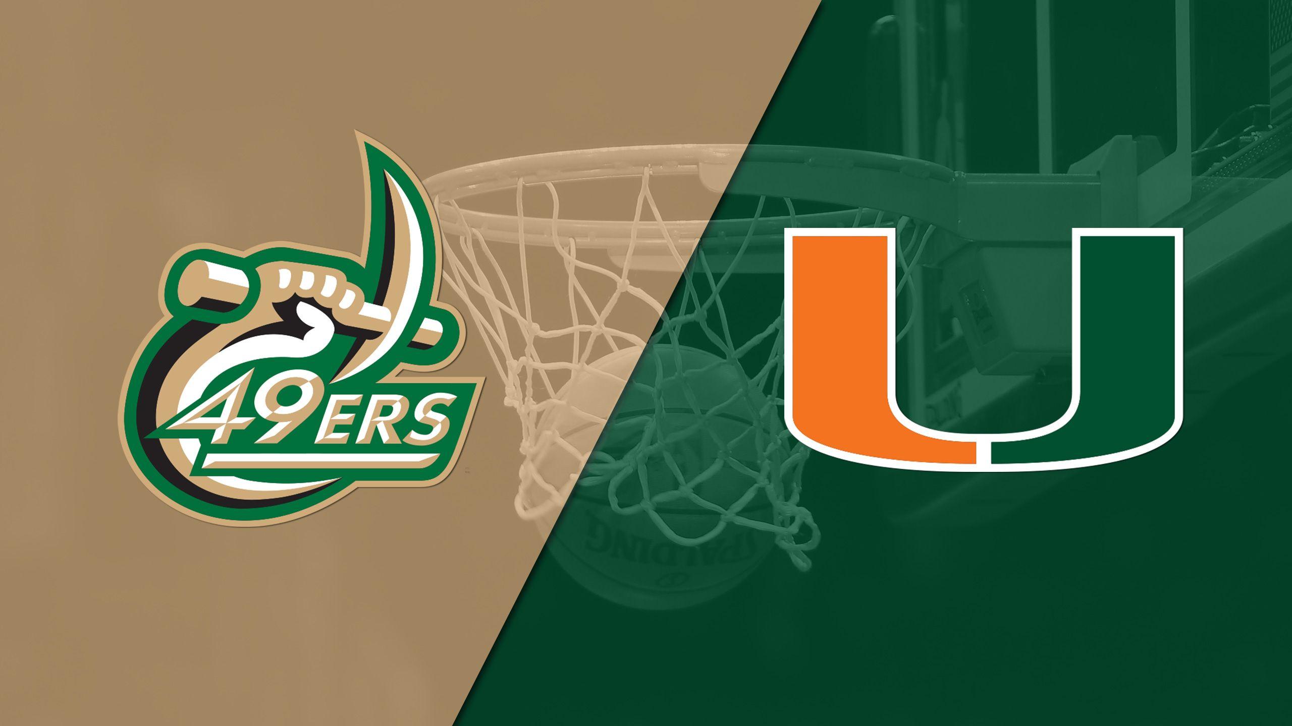 Charlotte vs. #22 Miami (W Basketball)