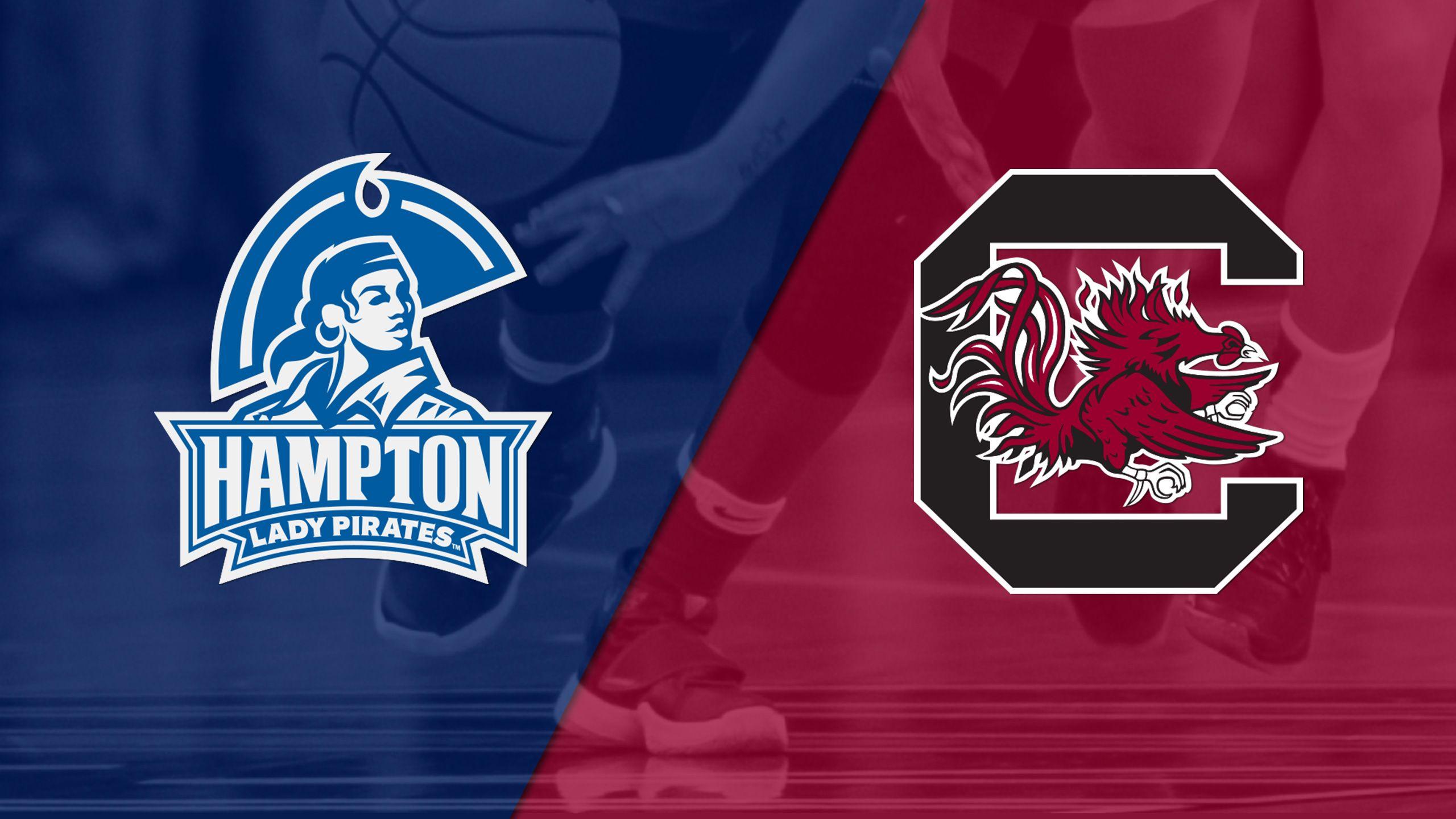 Hampton vs. #4 South Carolina (W Basketball)