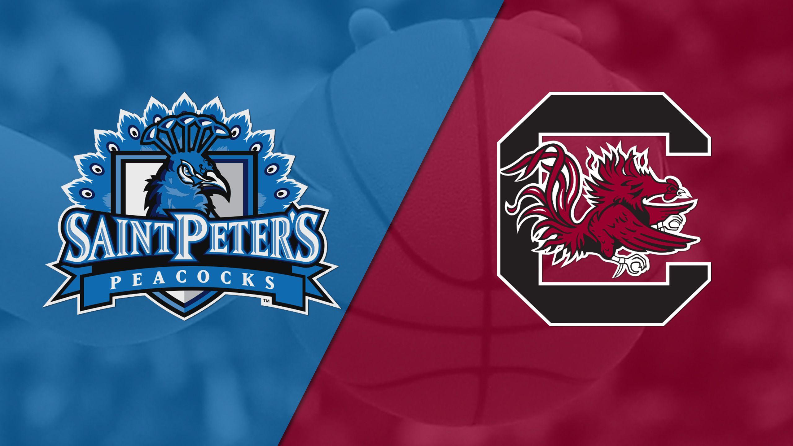 St. Peter's vs. #3 South Carolina (W Baskteball)