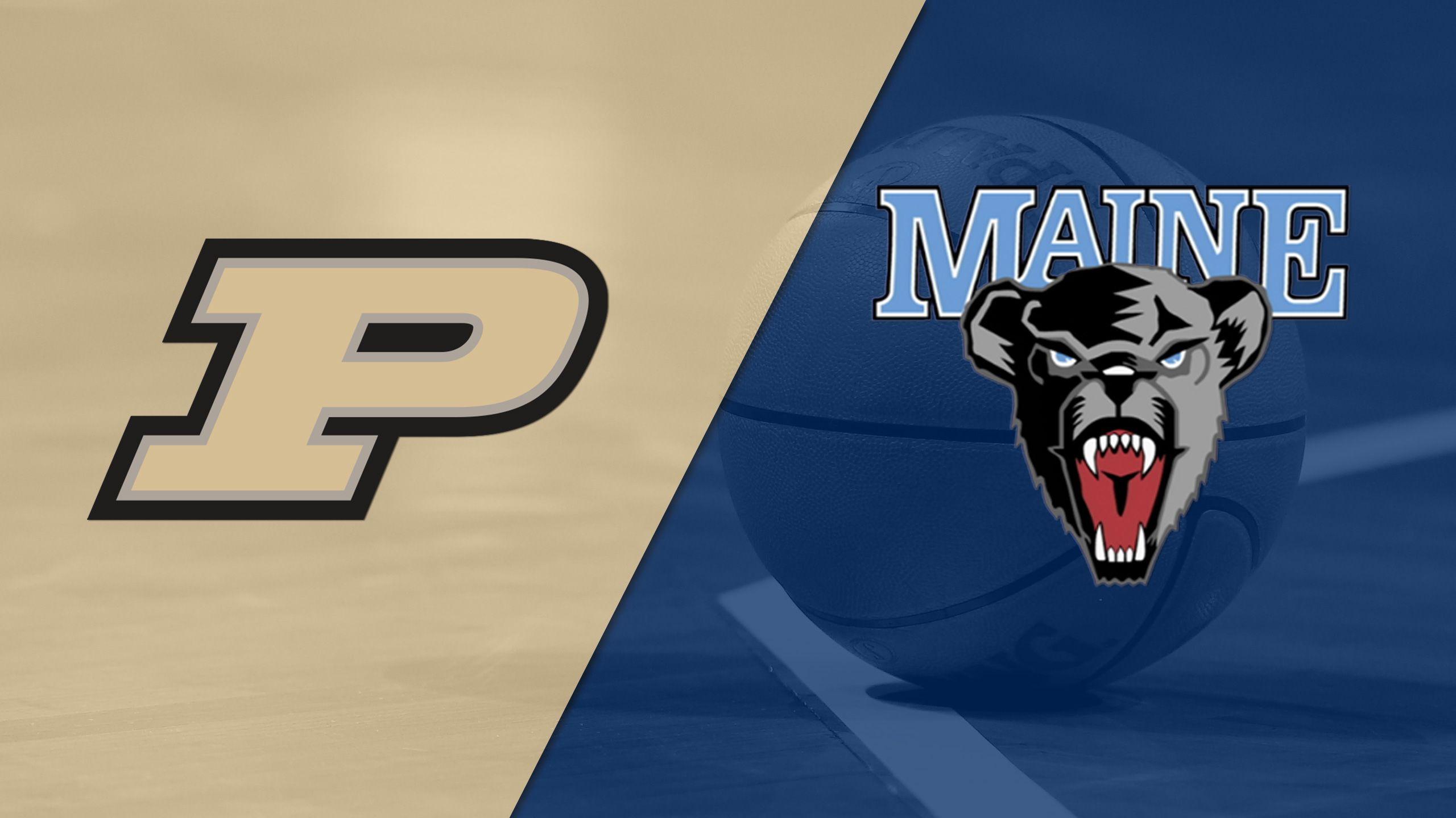 Purdue vs. Maine (W Basketball)