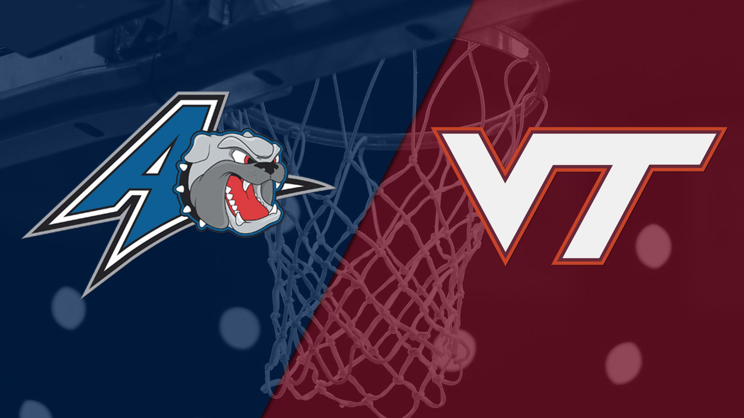 UNC Asheville vs. Virginia Tech (W Basketball)