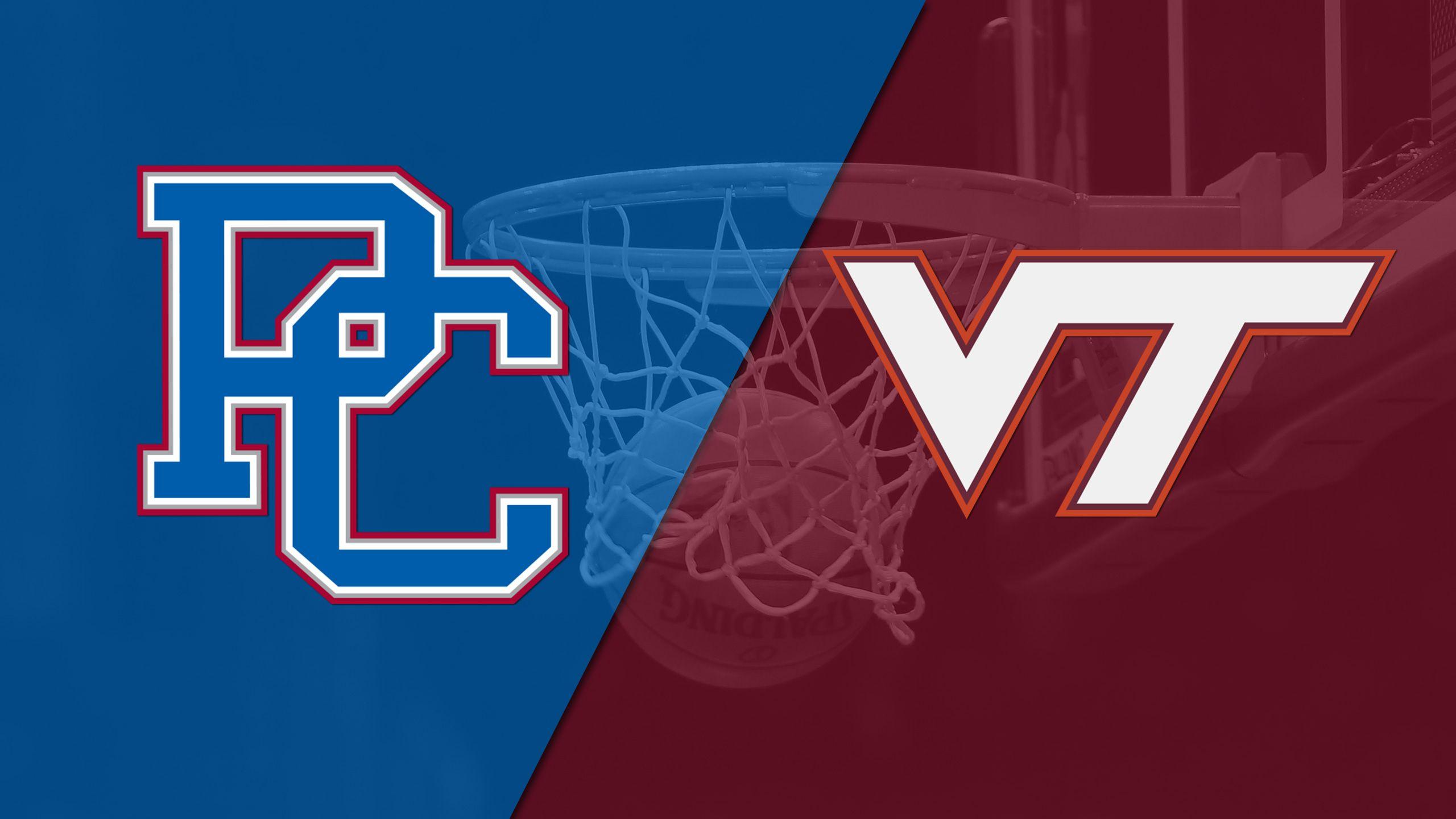 Presbyterian vs. Virginia Tech (W Basketball)