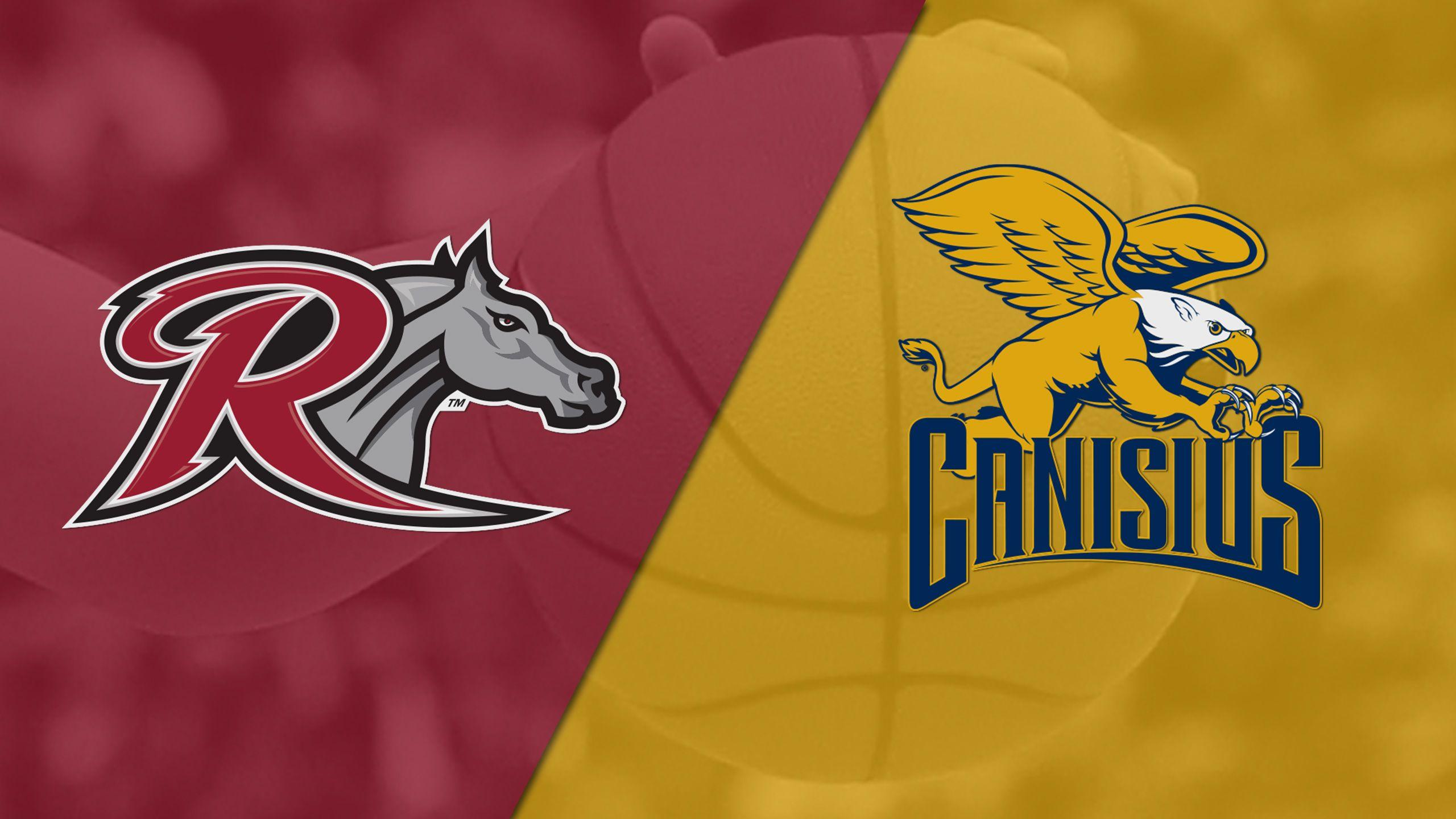 Rider vs. Canisius (W Basketball)