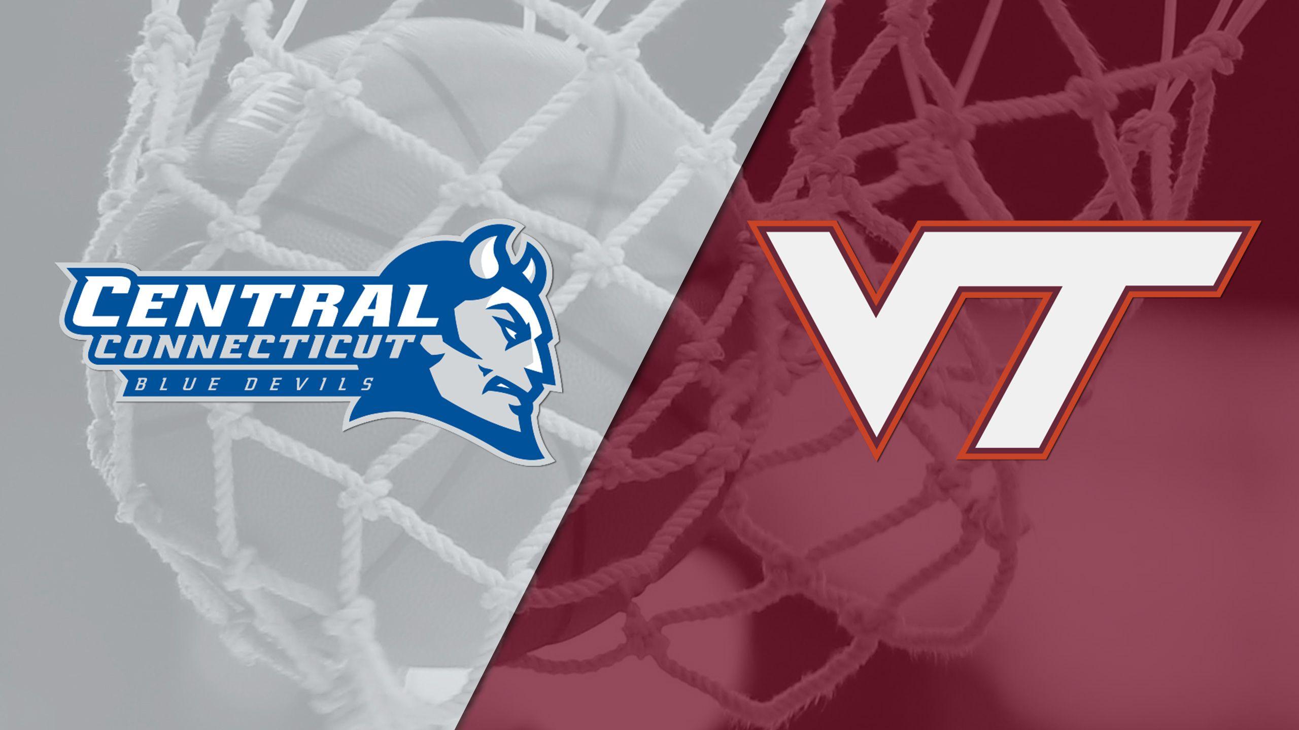 Central Connecticut vs. #25 Virginia Tech (W Basketball)