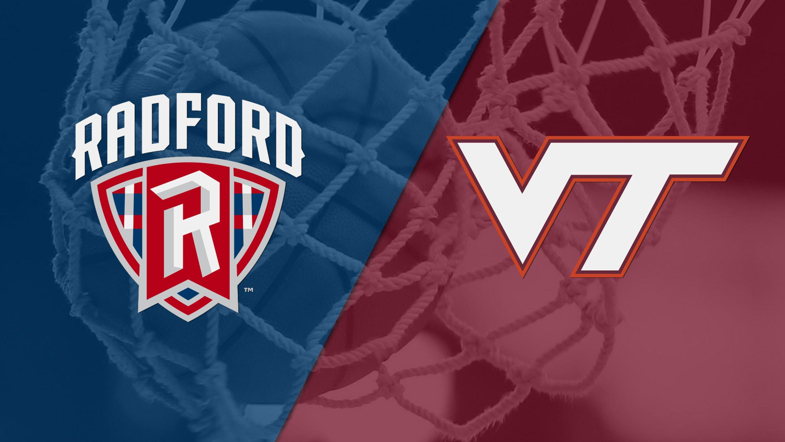 Radford vs. #23 Virginia Tech (W Basketball)