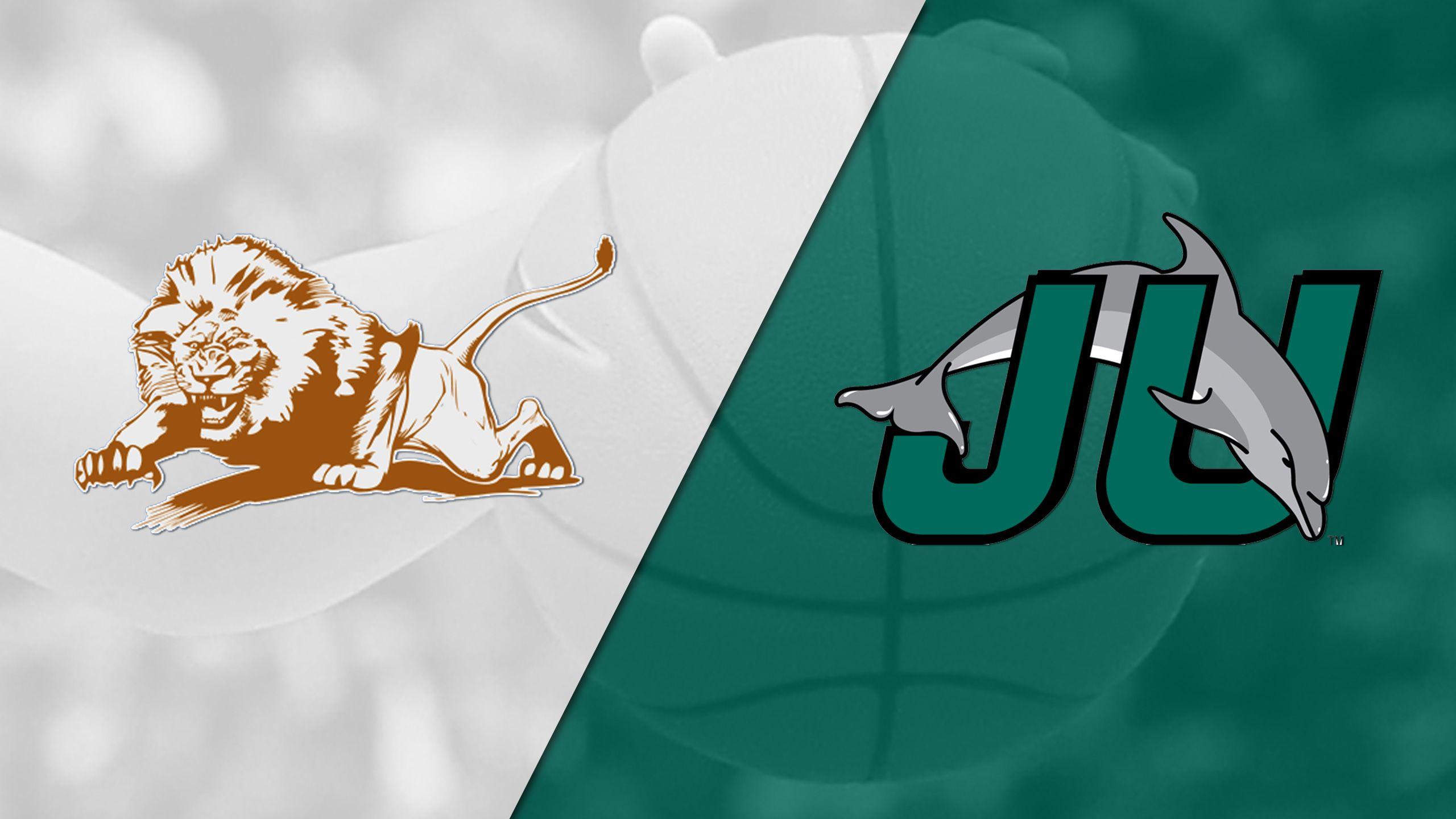 Florida Memorial vs. Jacksonville (W Basketball)