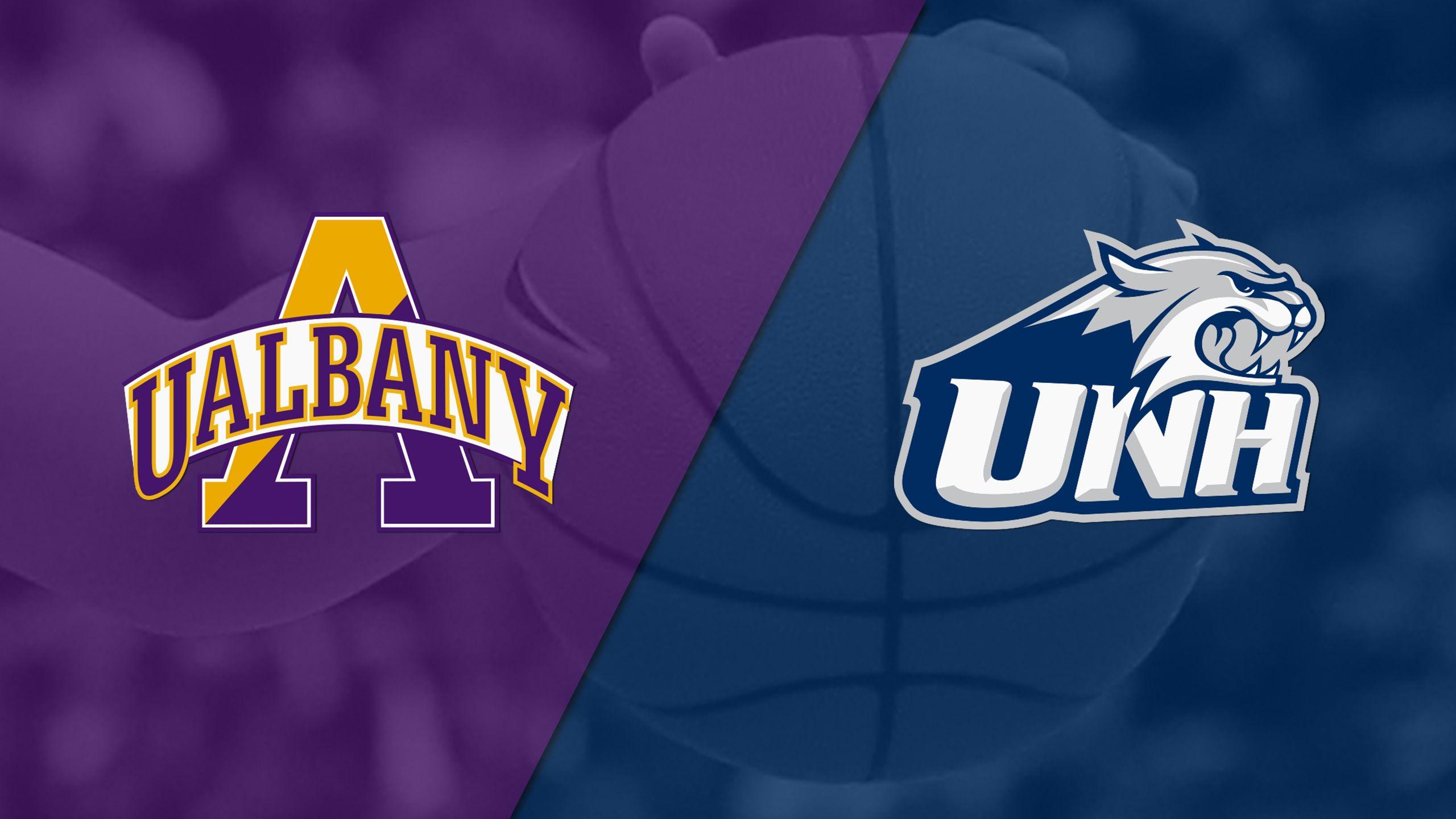 Albany vs. New Hampshire (W Basketball)