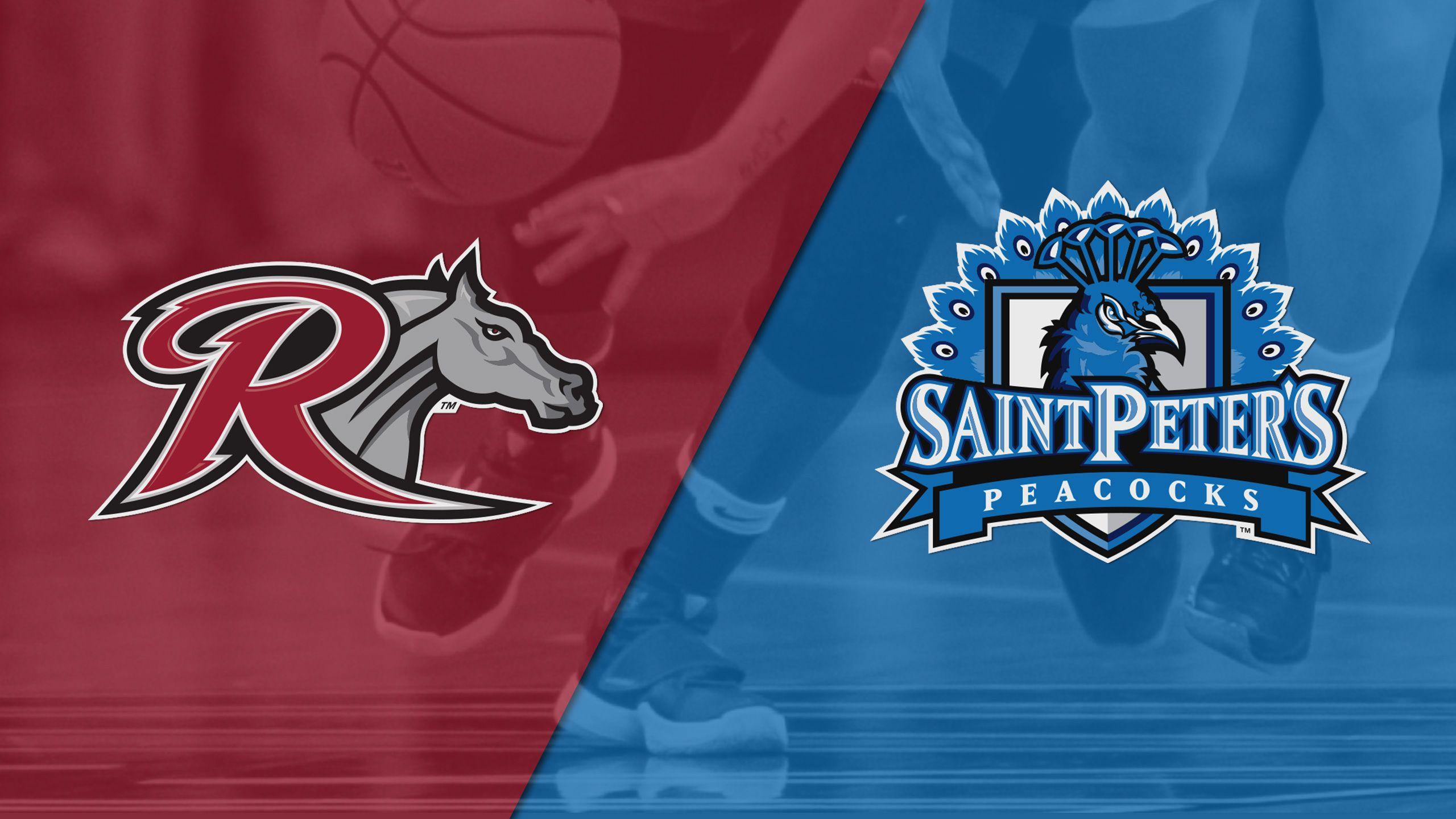 Rider vs. Saint Peter's (W Basketball)