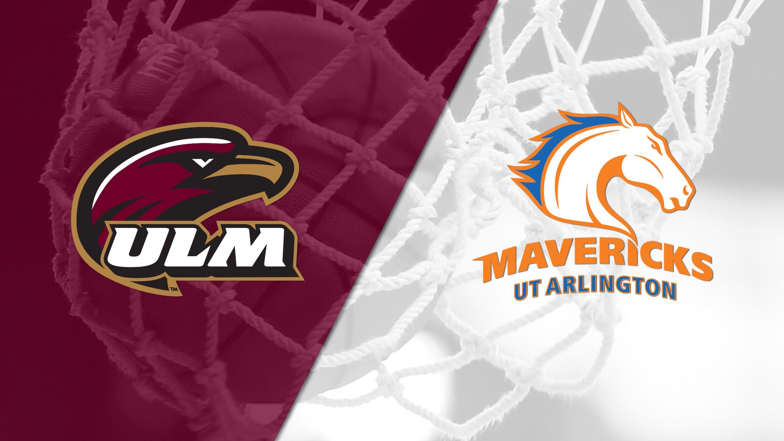 UL Monroe vs. UT Arlington (W Basketball)